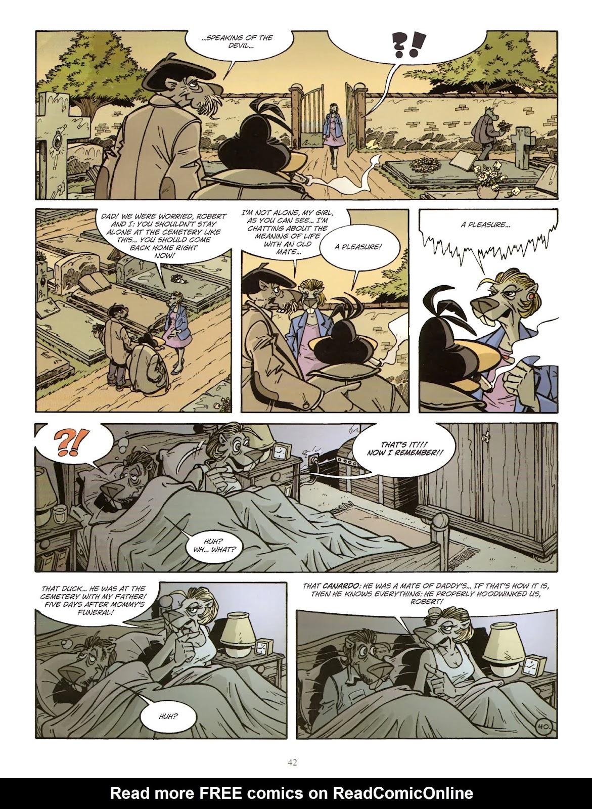 Une enquête de l'inspecteur Canardo issue 11 - Page 43