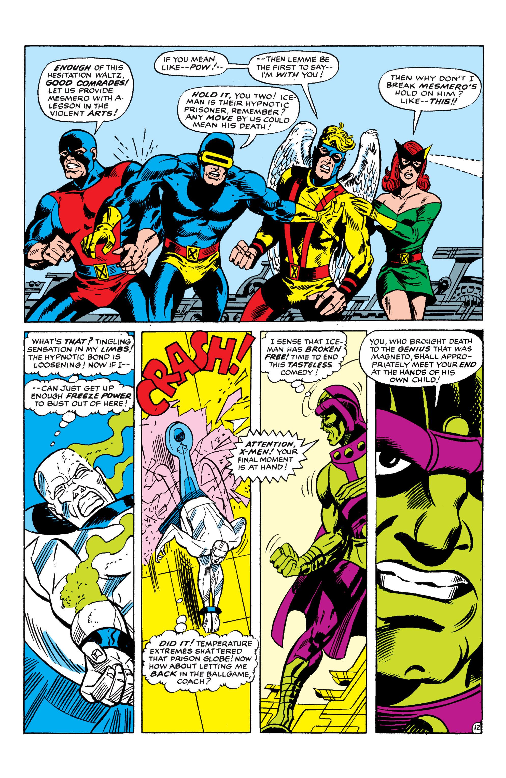 Read online Uncanny X-Men (1963) comic -  Issue #50 - 12