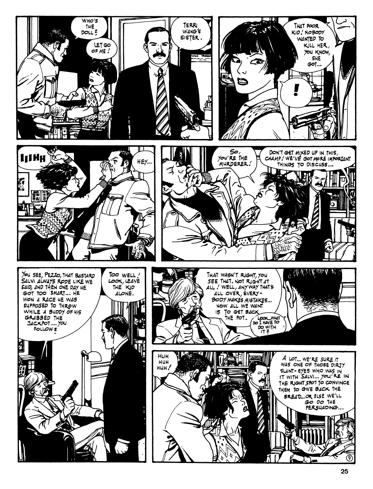Read online Cases from the Files of Sam Pezzo, P.I. comic -  Issue # Full - 26