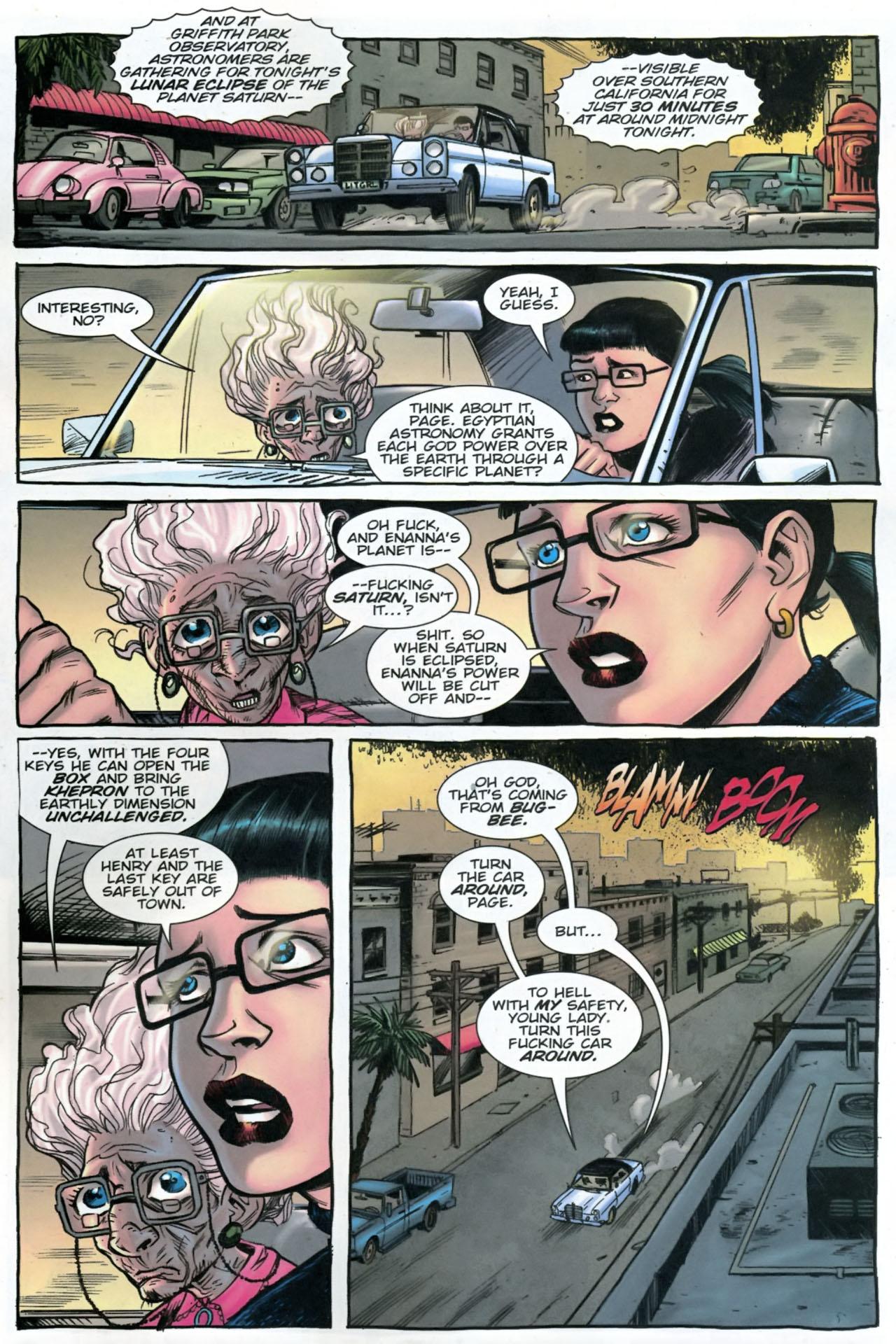 Read online The Exterminators comic -  Issue #28 - 19