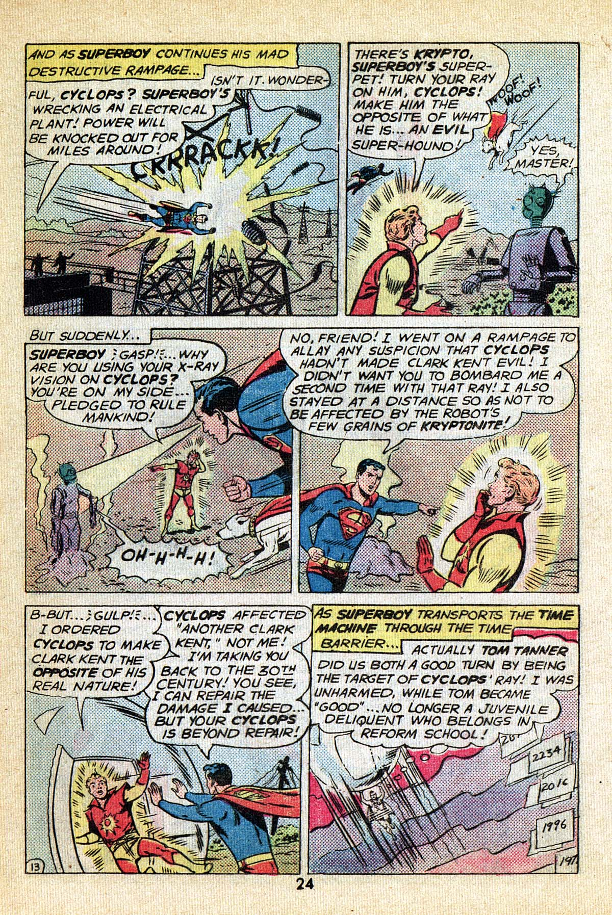 Read online Adventure Comics (1938) comic -  Issue #495 - 24