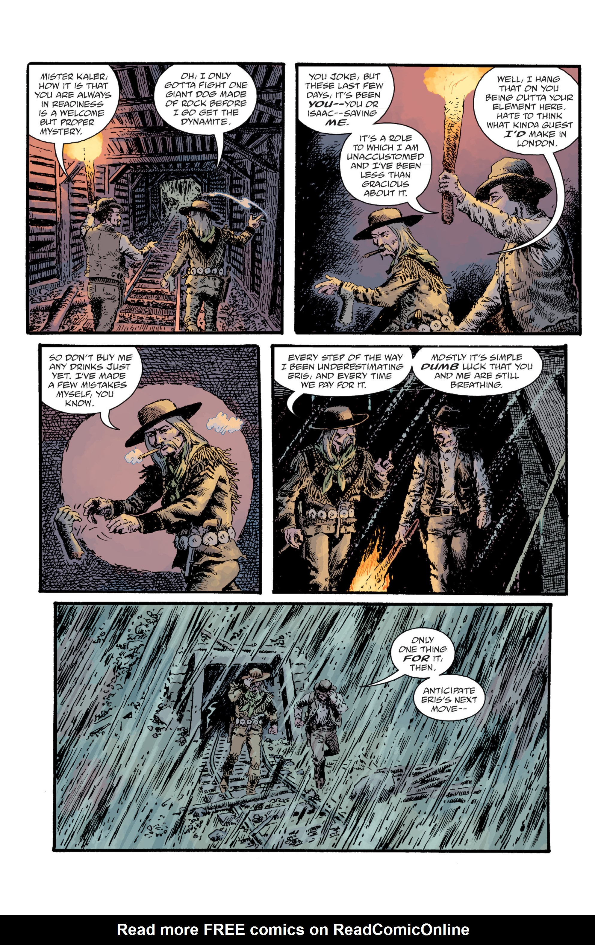 Read online Sir Edward Grey, Witchfinder: Lost and Gone Forever comic -  Issue # TPB - 97
