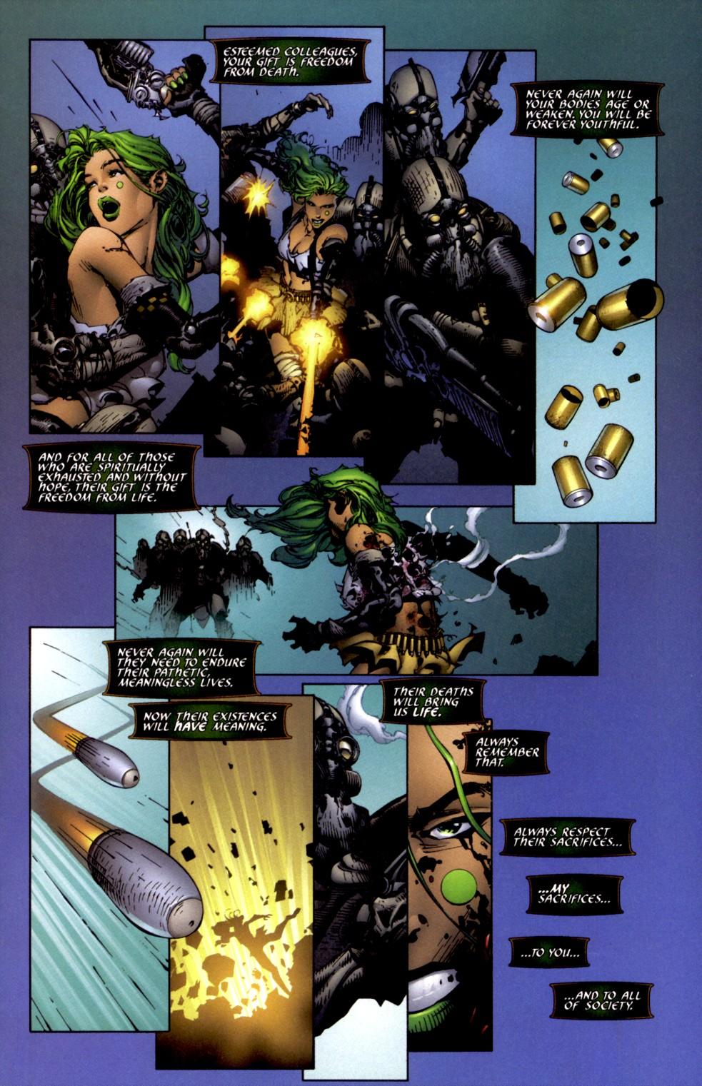 Read online Aphrodite IX (2000) comic -  Issue #2 - 21