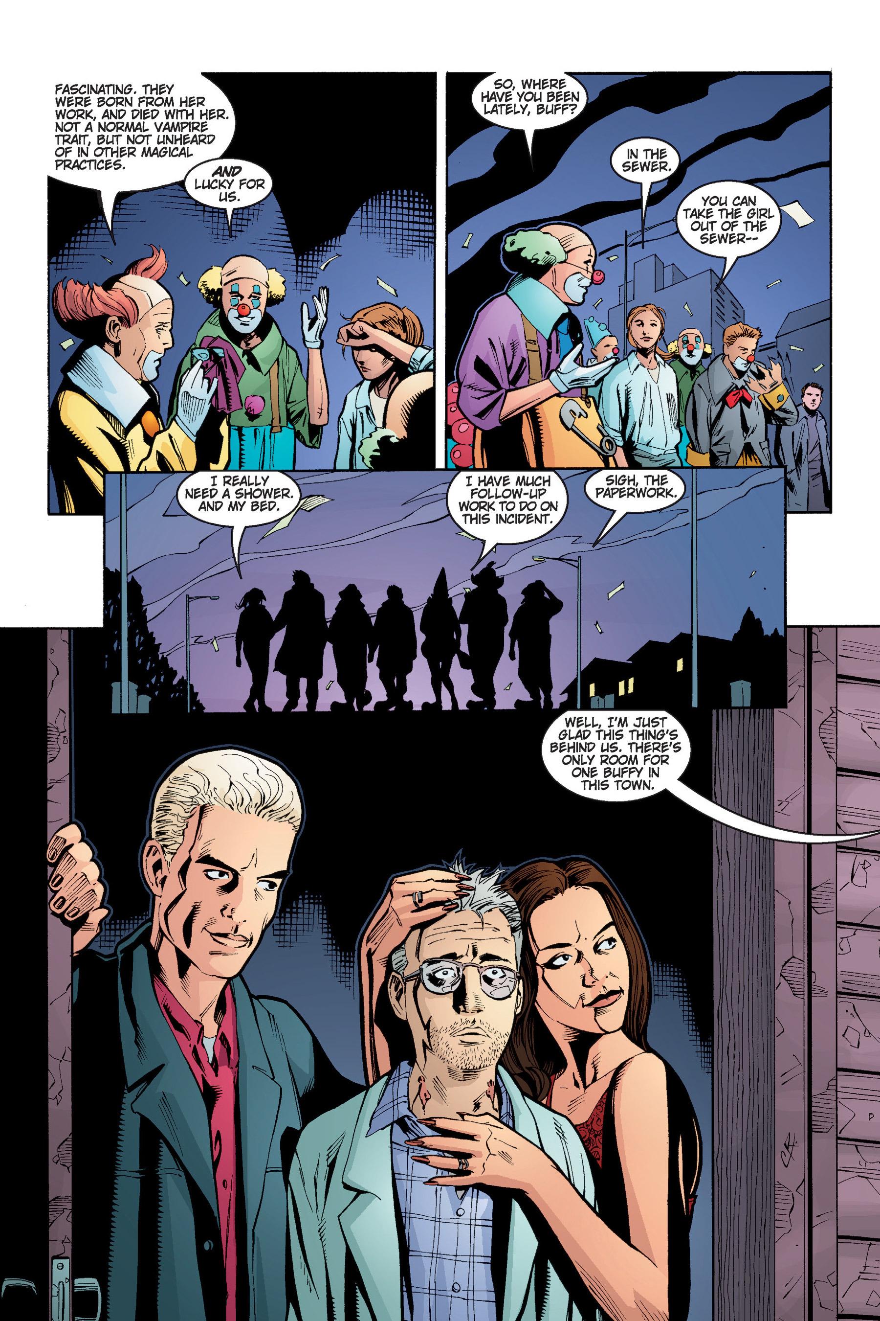 Read online Buffy the Vampire Slayer: Omnibus comic -  Issue # TPB 4 - 205