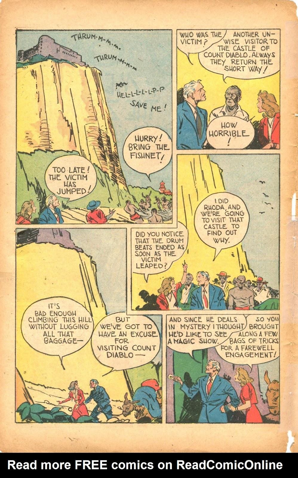 Read online Super-Magician Comics comic -  Issue #35 - 44