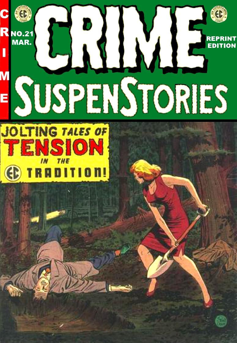 Crime SuspenStories 21 Page 1