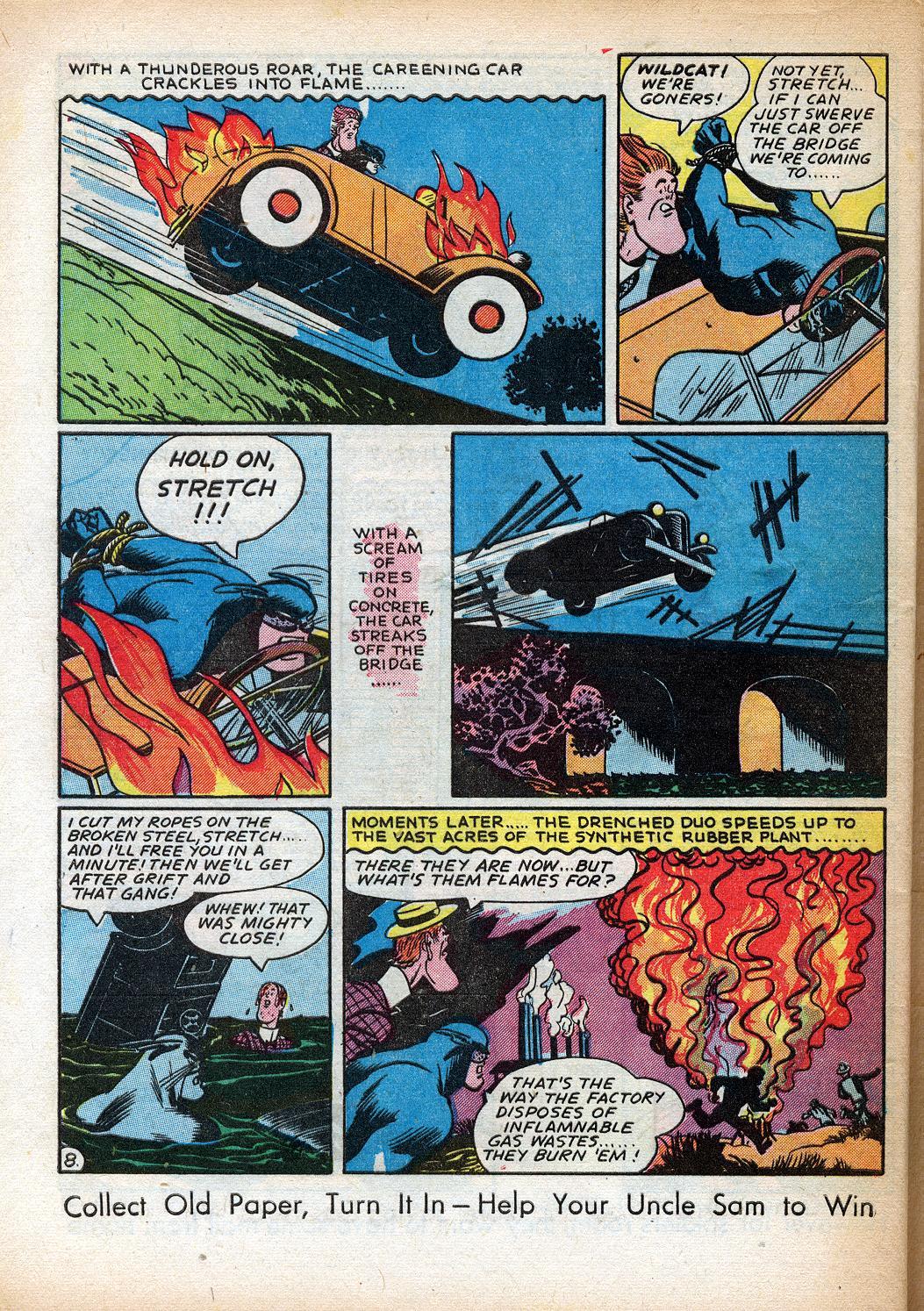 Read online Sensation (Mystery) Comics comic -  Issue #33 - 48