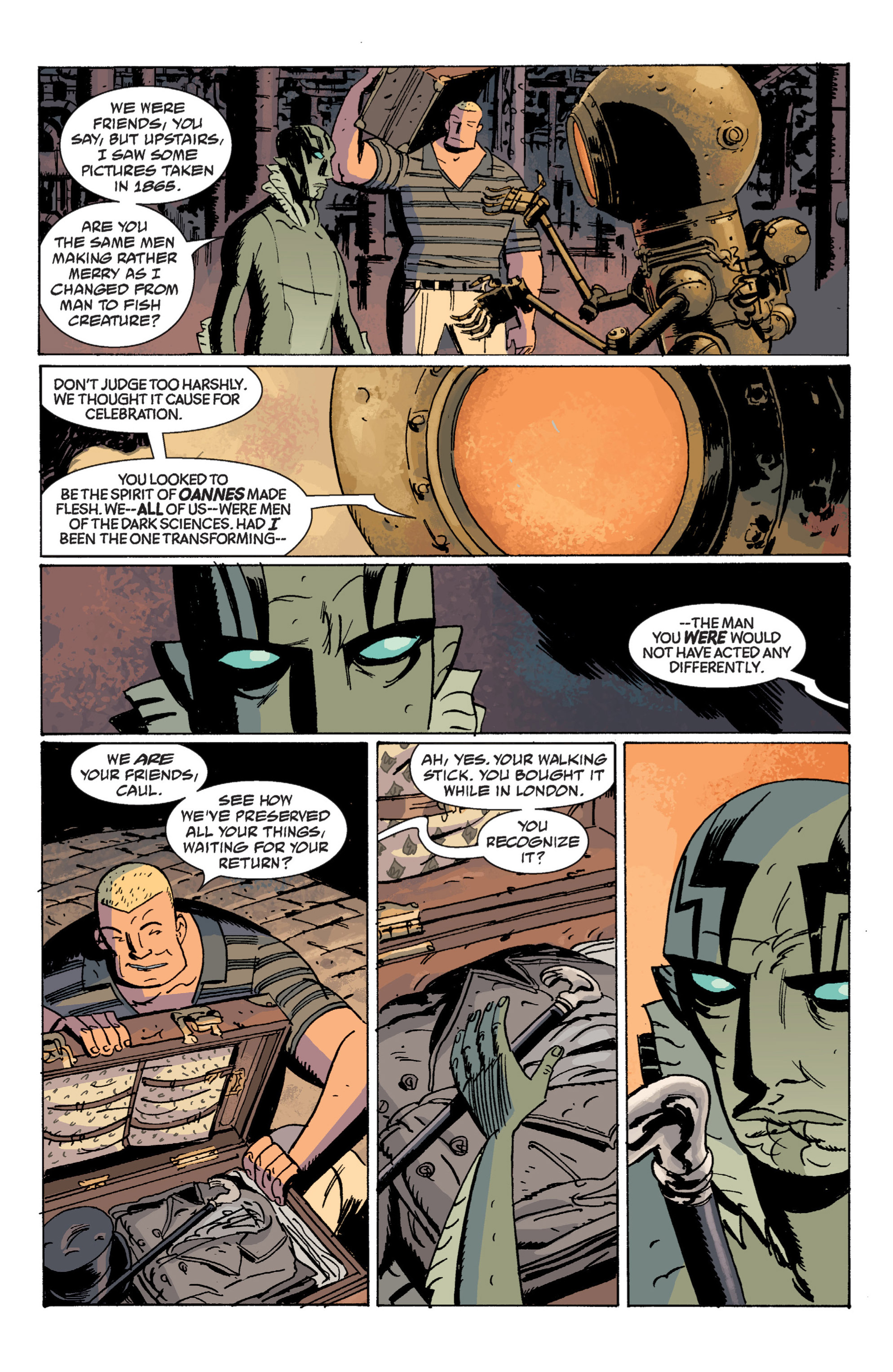 Read online B.P.R.D. (2003) comic -  Issue # TPB 7 - 102