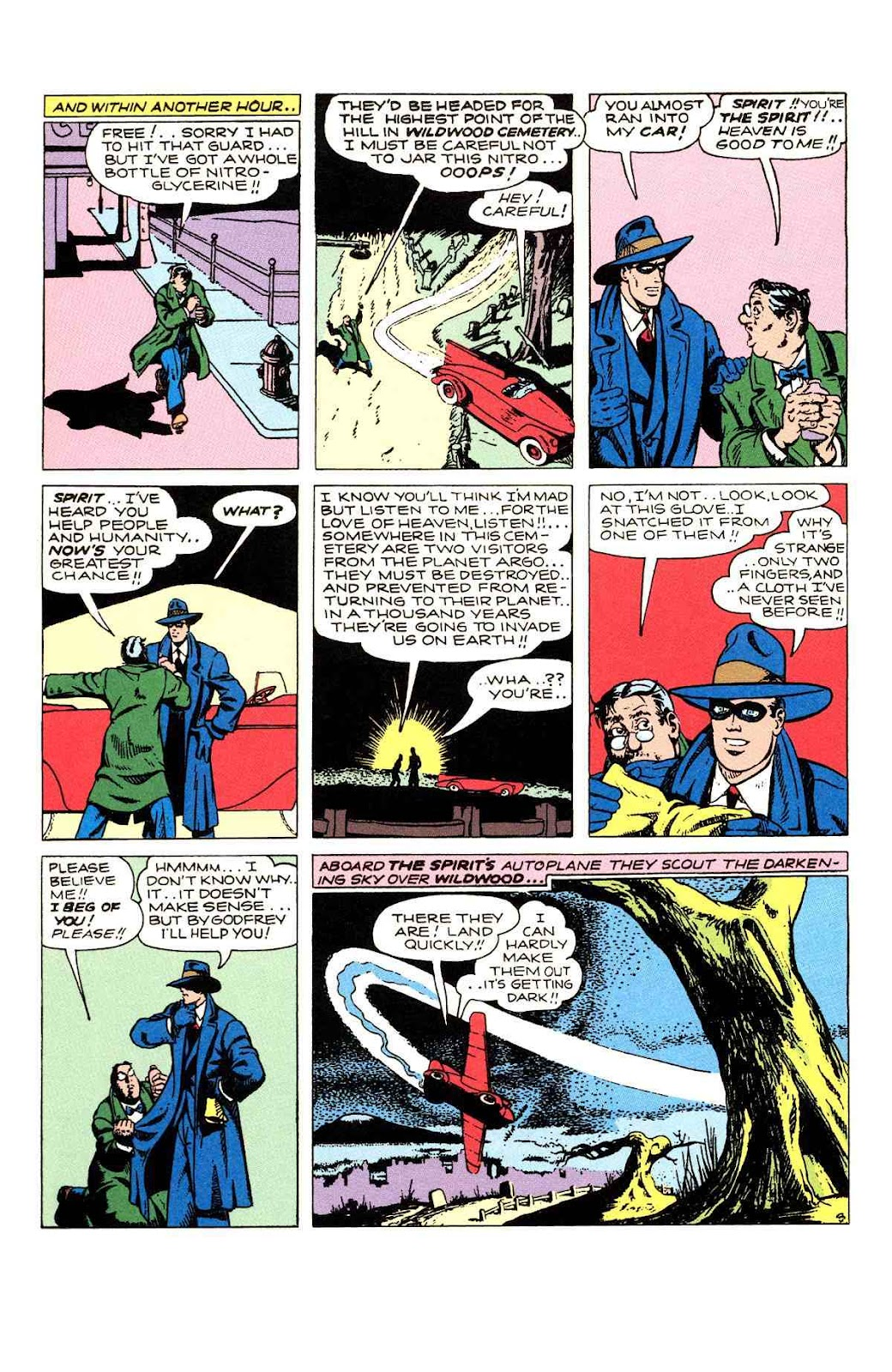 Read online Will Eisner's The Spirit Archives comic -  Issue # TPB 2 (Part 1) - 62