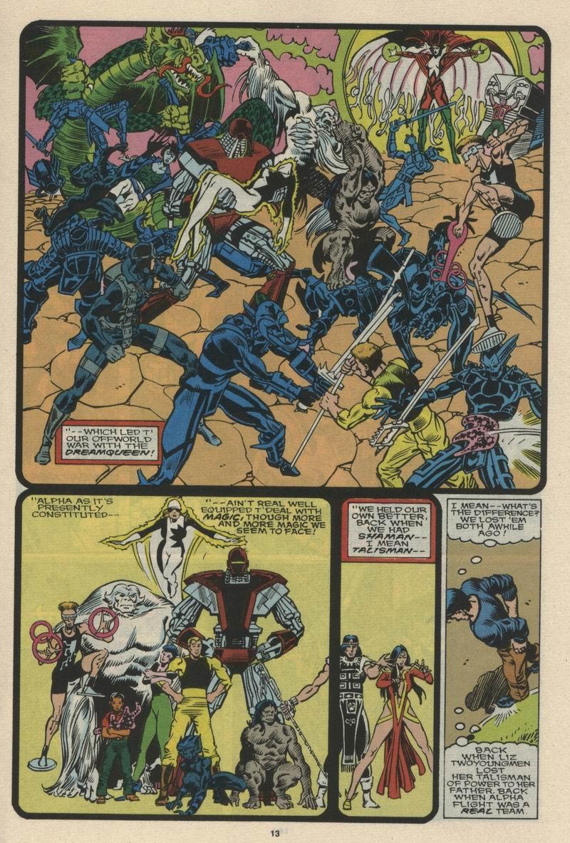 Read online Alpha Flight (1983) comic -  Issue #66 - 14