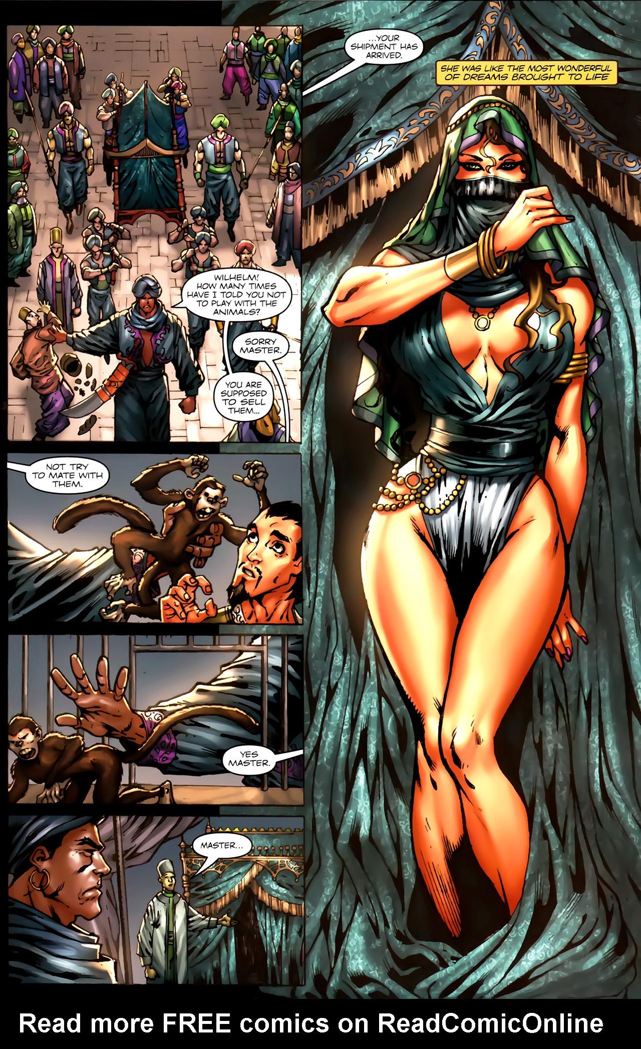 Read online 1001 Arabian Nights: The Adventures of Sinbad comic -  Issue #7 - 6
