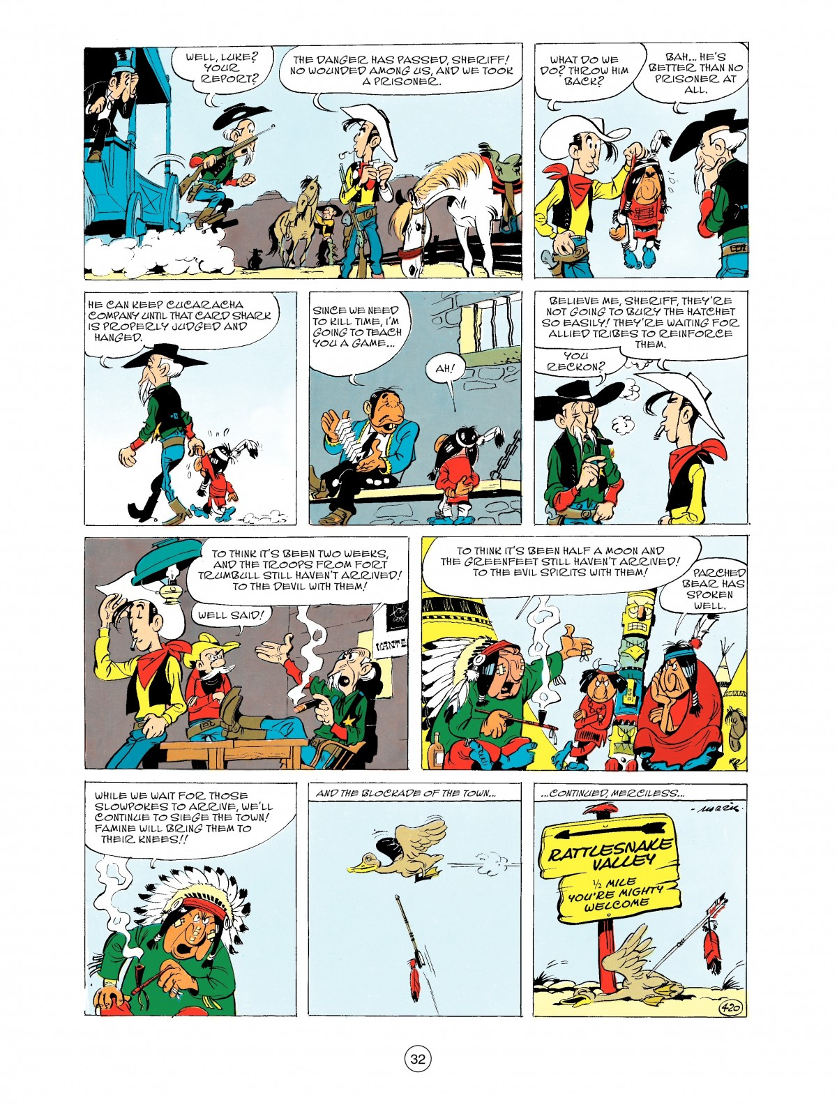 Read online A Lucky Luke Adventure comic -  Issue #43 - 32