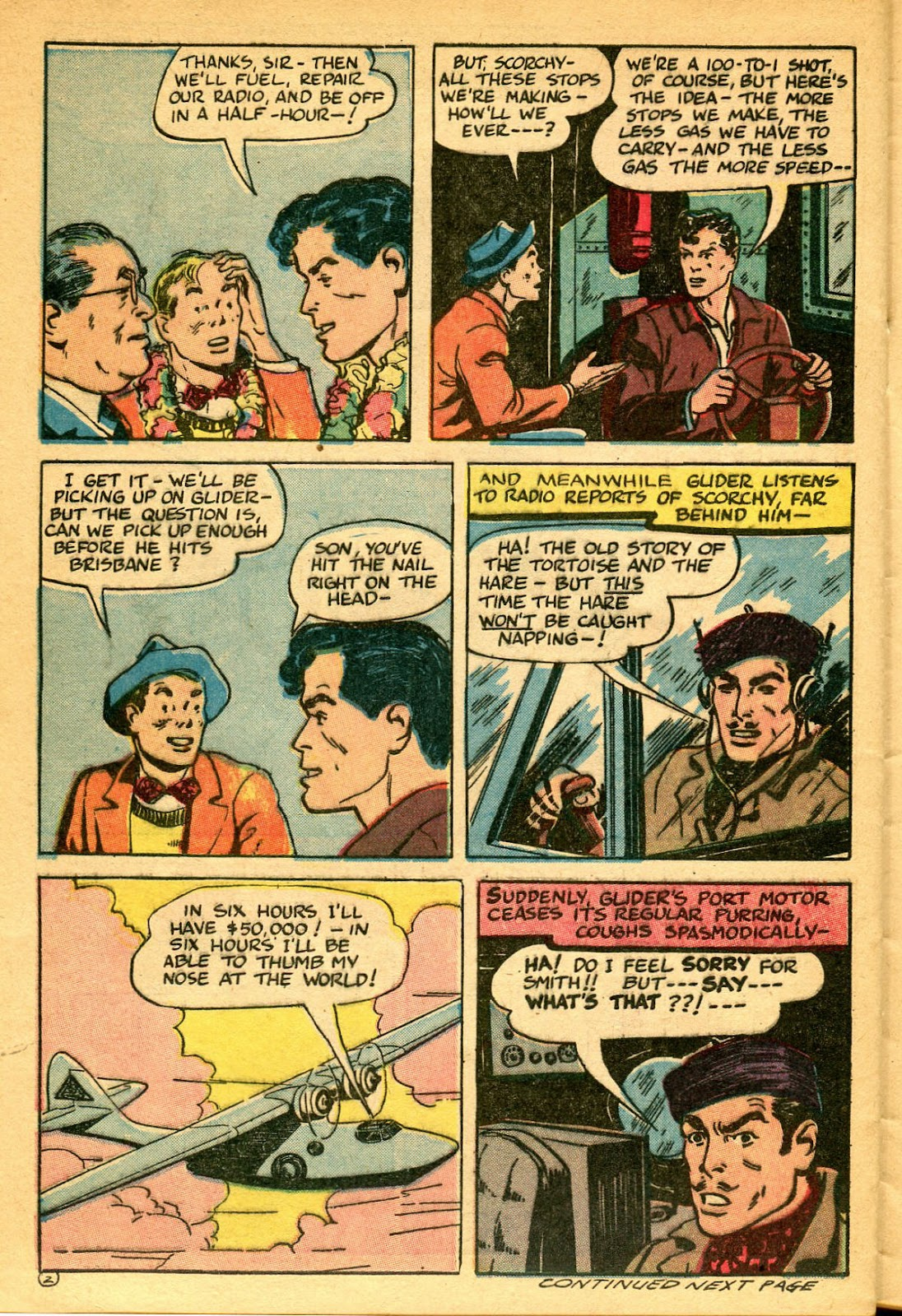 Read online Famous Funnies comic -  Issue #134 - 28