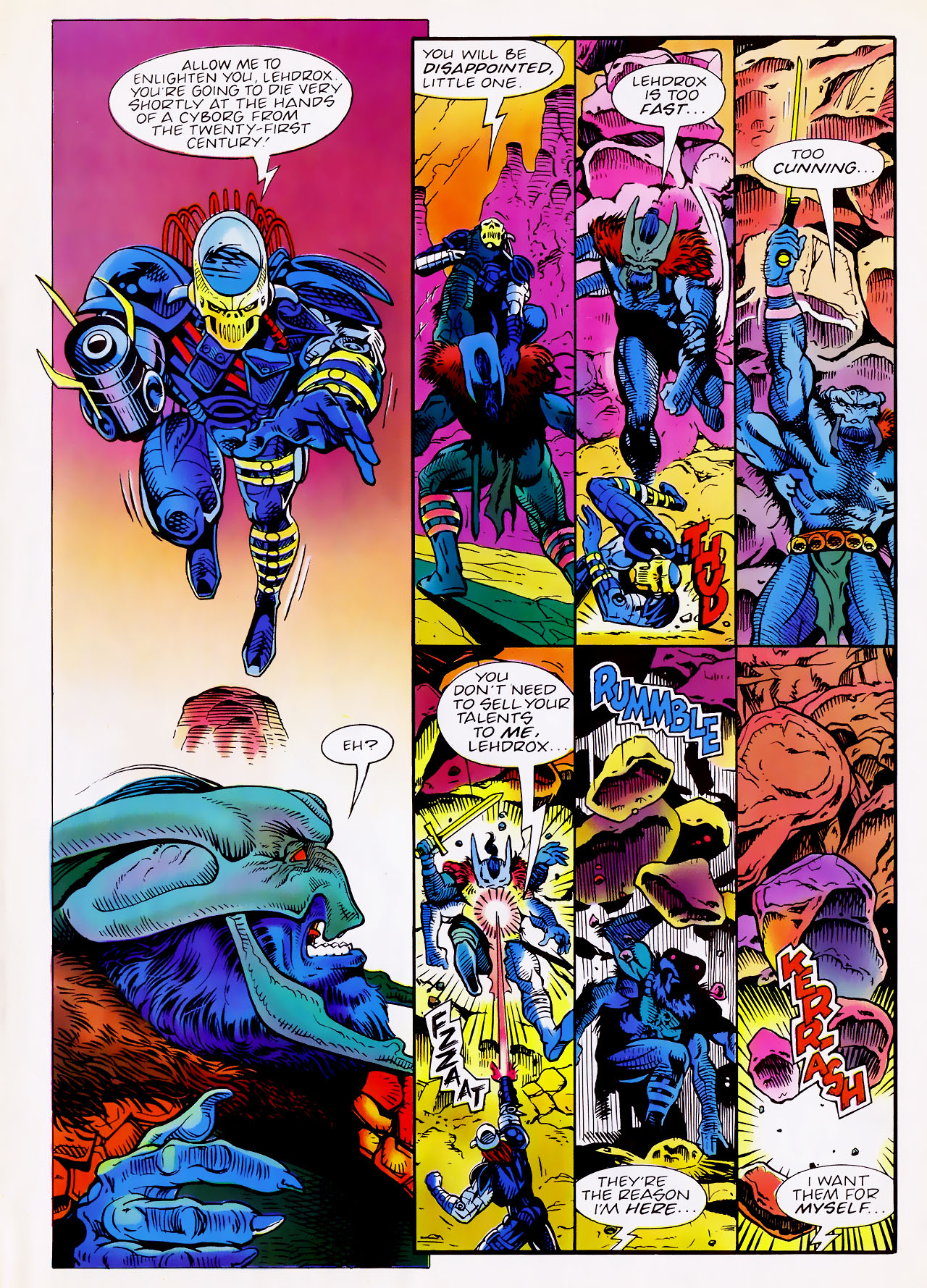 Read online Overkill comic -  Issue #13 - 7