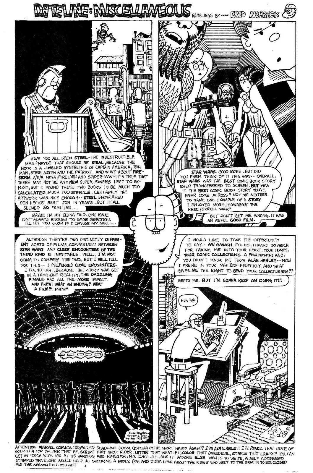 Read online The Nearly Complete Essential Hembeck Archives Omnibus comic -  Issue # TPB (Part 4) - 24