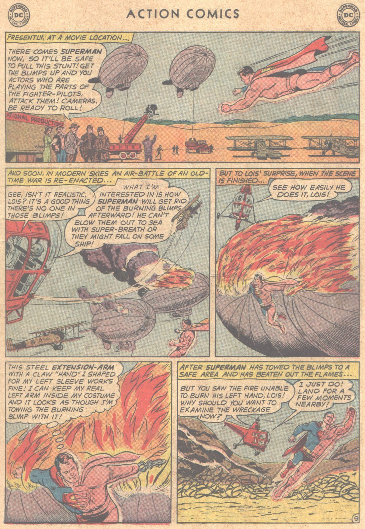 Read online Action Comics (1938) comic -  Issue #290 - 11