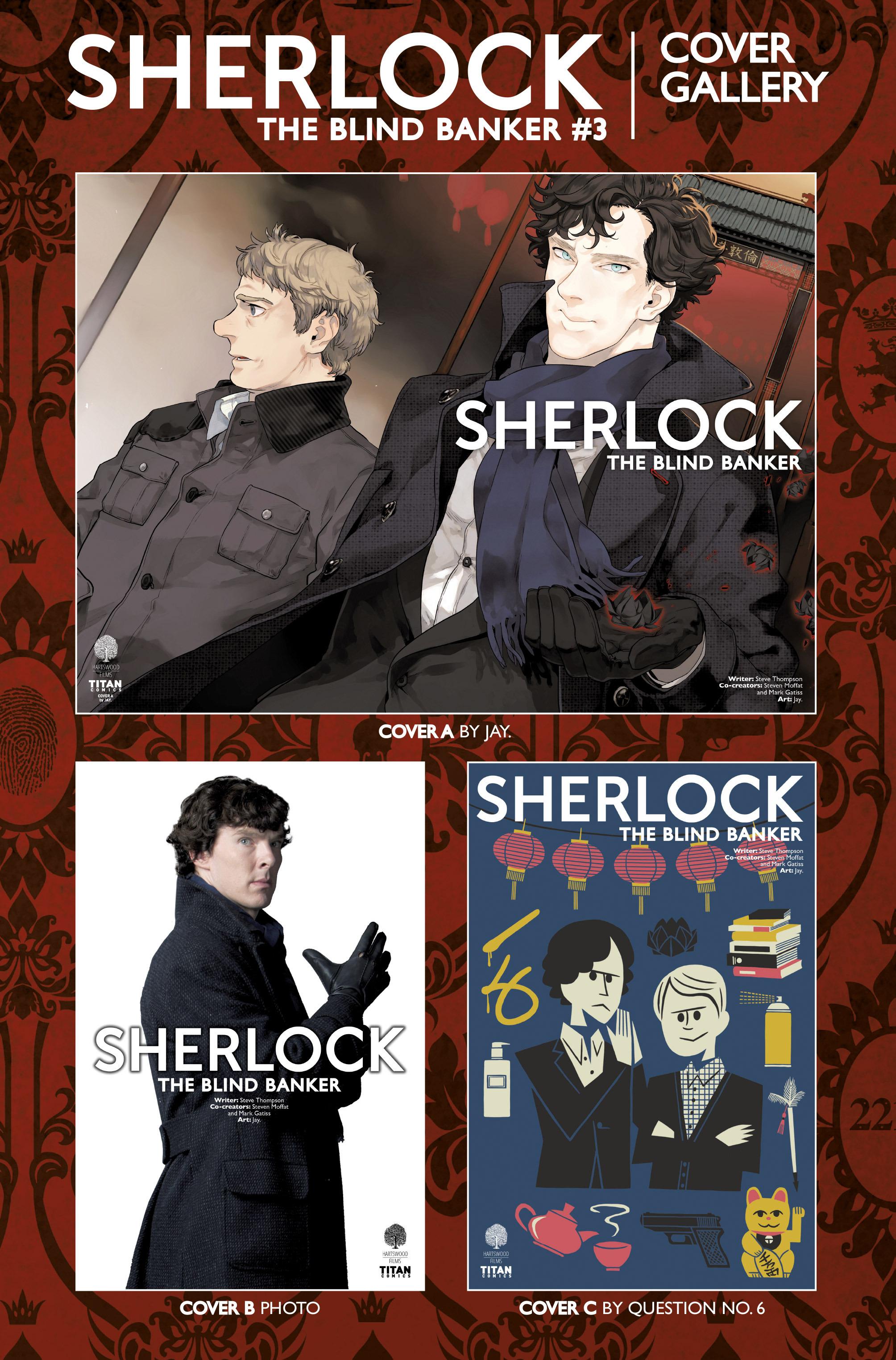 Read online Sherlock: The Blind Banker comic -  Issue #3 - 40