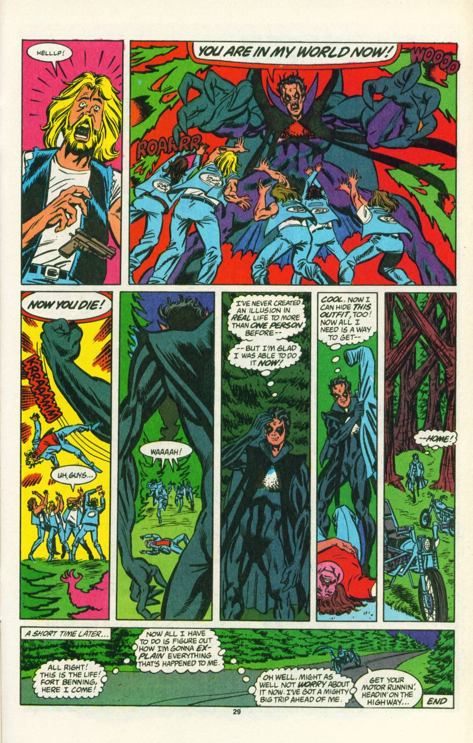 Read online Justice (1986) comic -  Issue #25 - 30