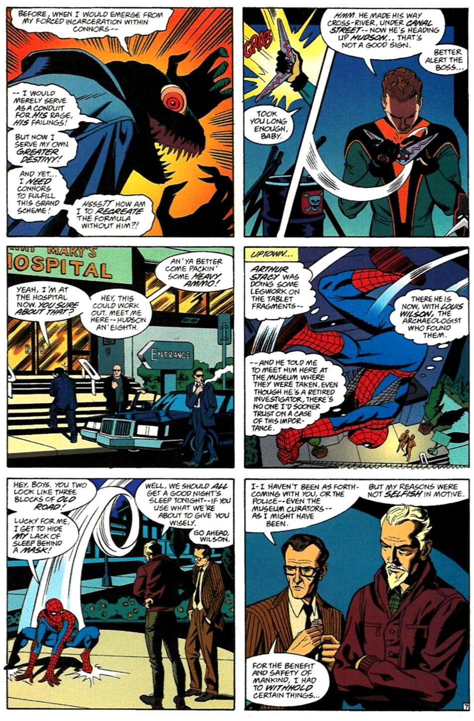 Read online Spider-Man: Lifeline comic -  Issue #3 - 8