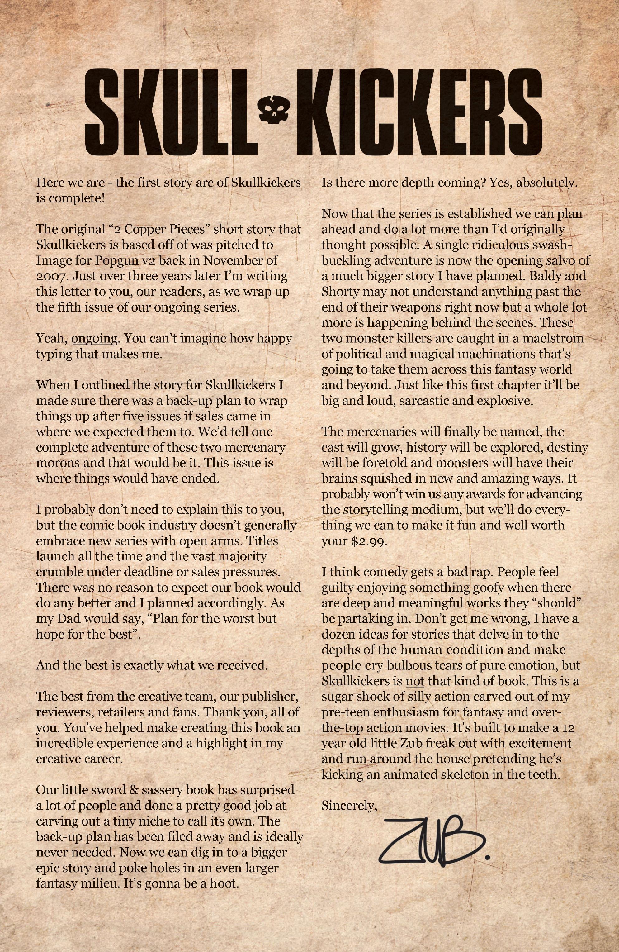 Read online Skullkickers comic -  Issue #5 - 24