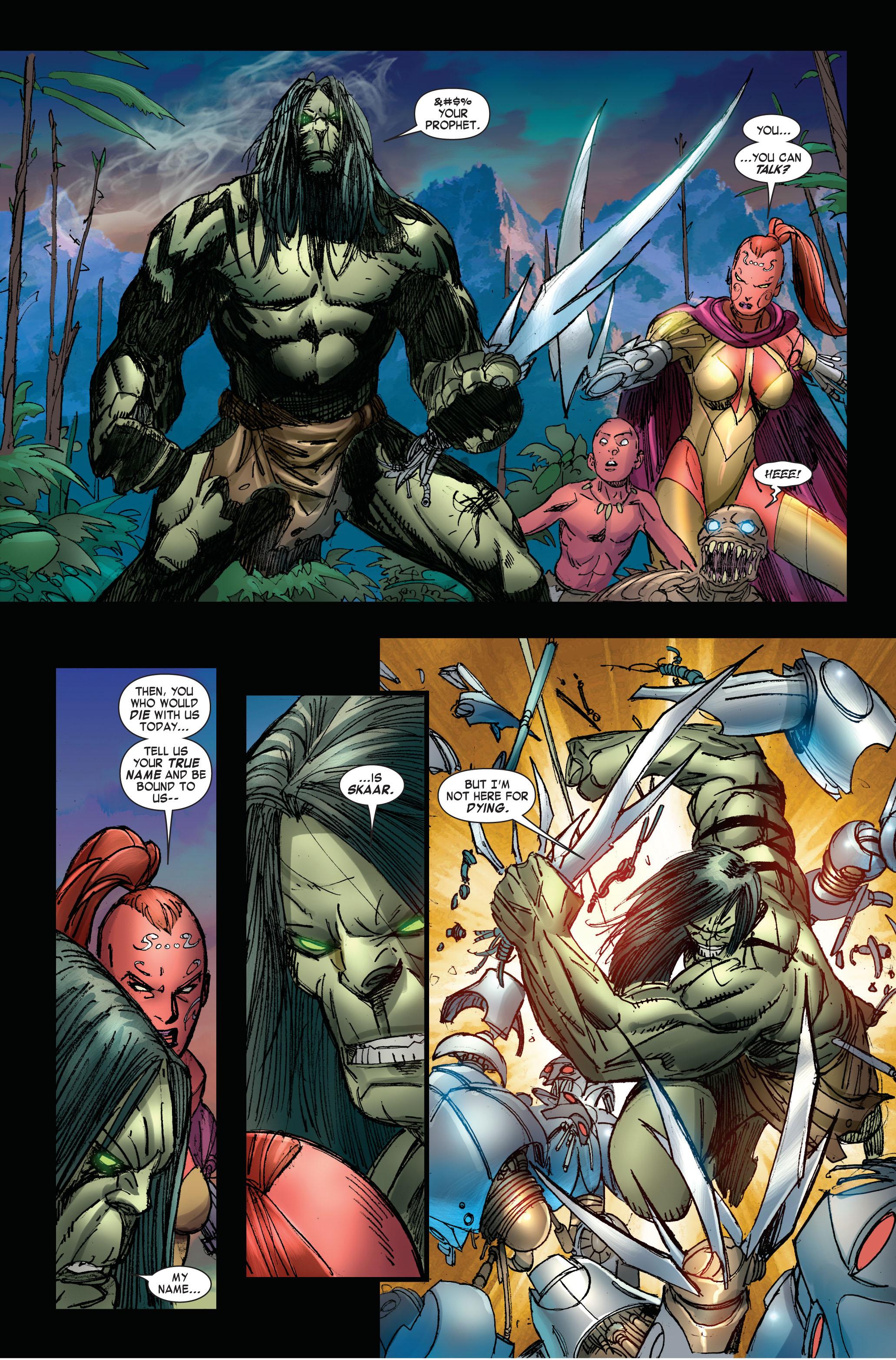 Read online Skaar: Son of Hulk comic -  Issue #3 - 13