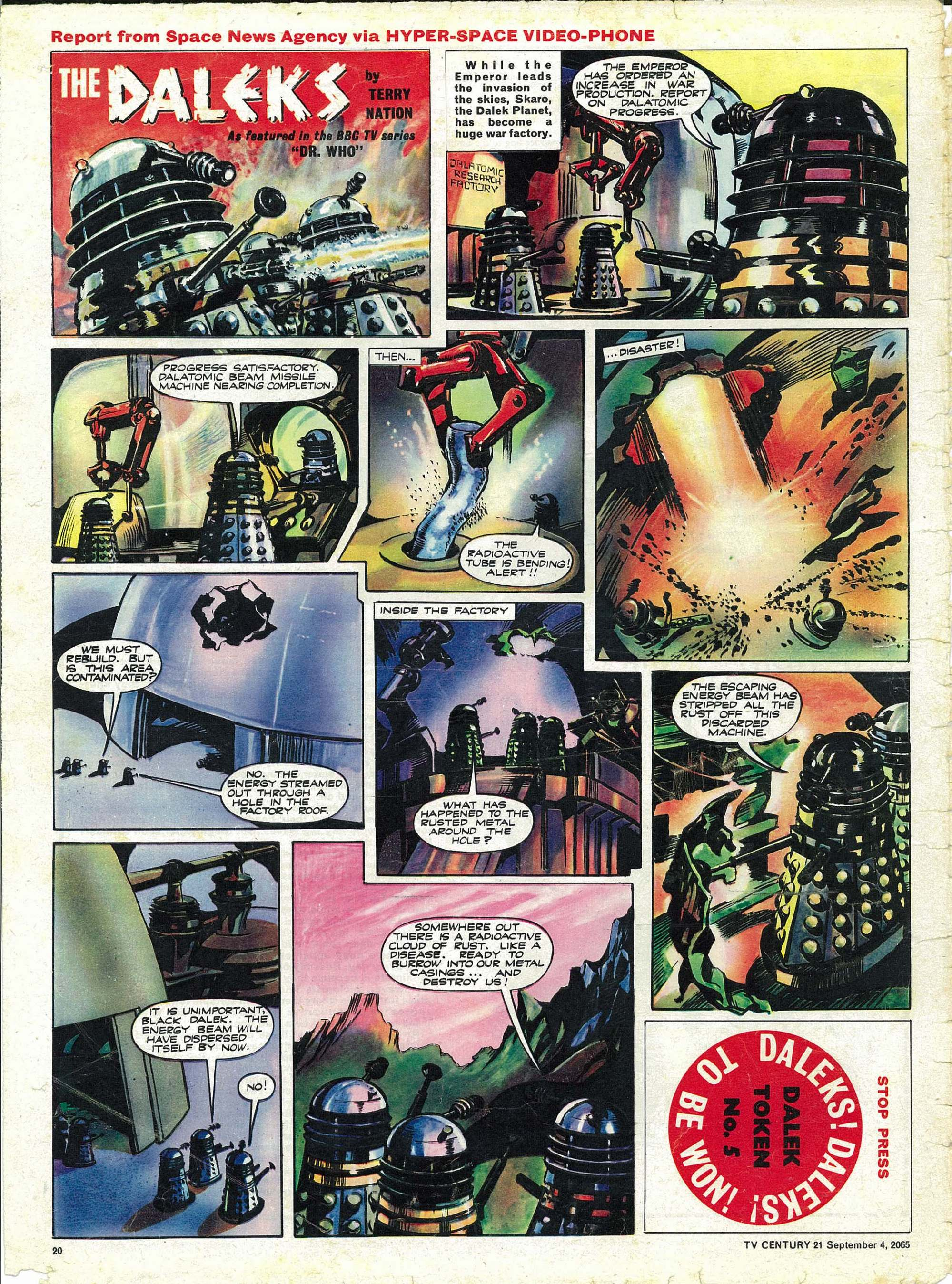 Read online TV Century 21 (TV 21) comic -  Issue #33 - 19