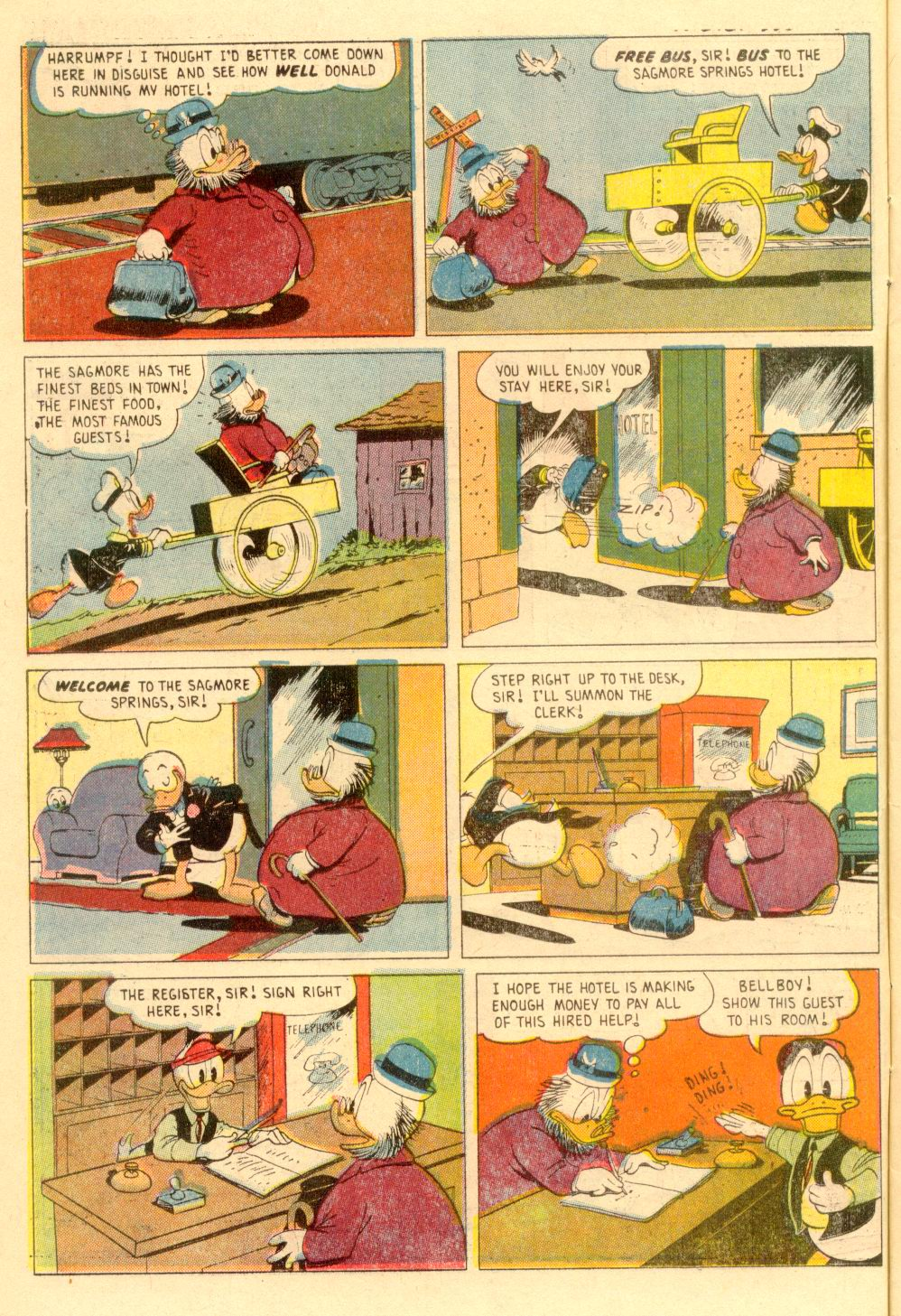 Walt Disney's Comics and Stories issue 355 - Page 6