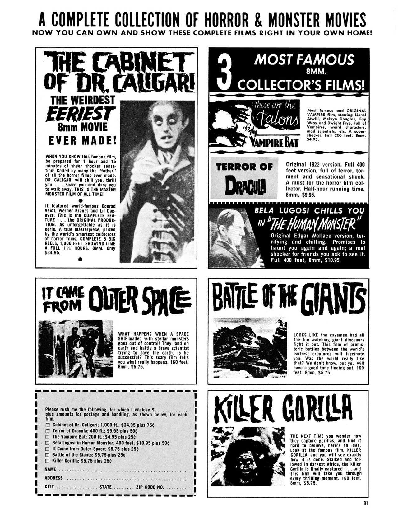 Read online Eerie Archives comic -  Issue # TPB 3 - 92