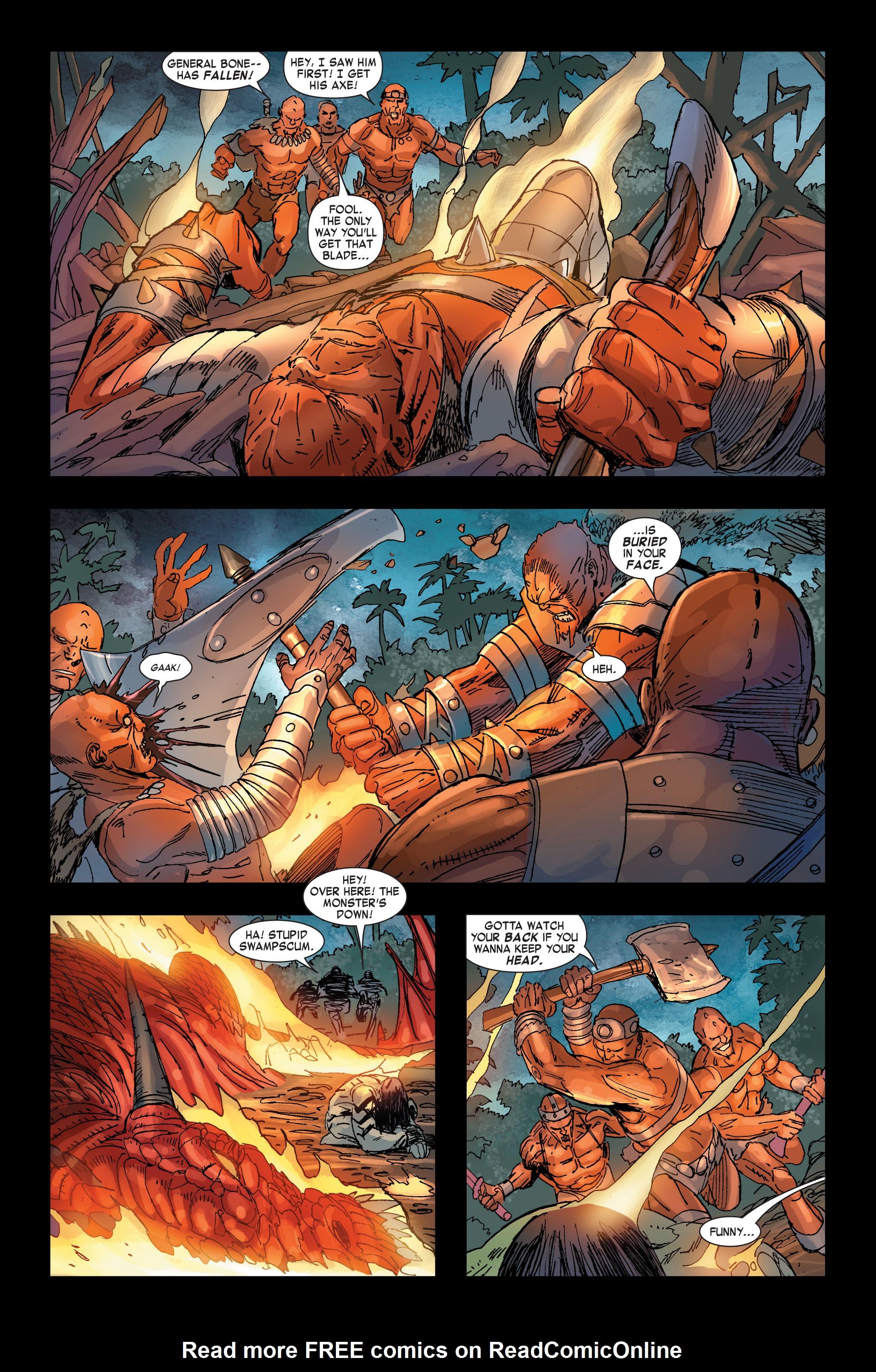 Read online Skaar: Son of Hulk comic -  Issue #2 - 14