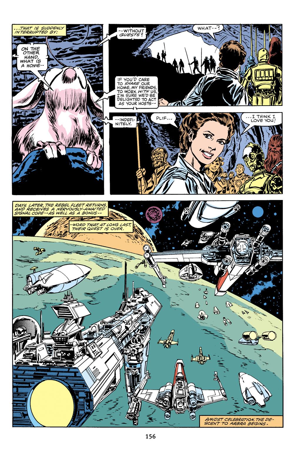 Read online Star Wars Omnibus comic -  Issue # Vol. 16 - 154