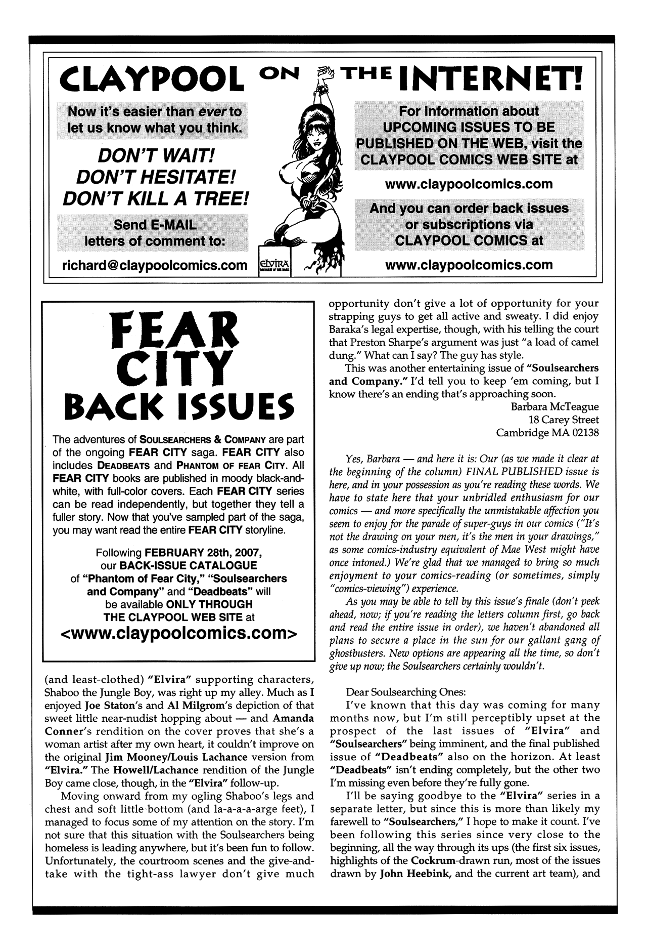 Soulsearchers and Company issue 82 - Page 31