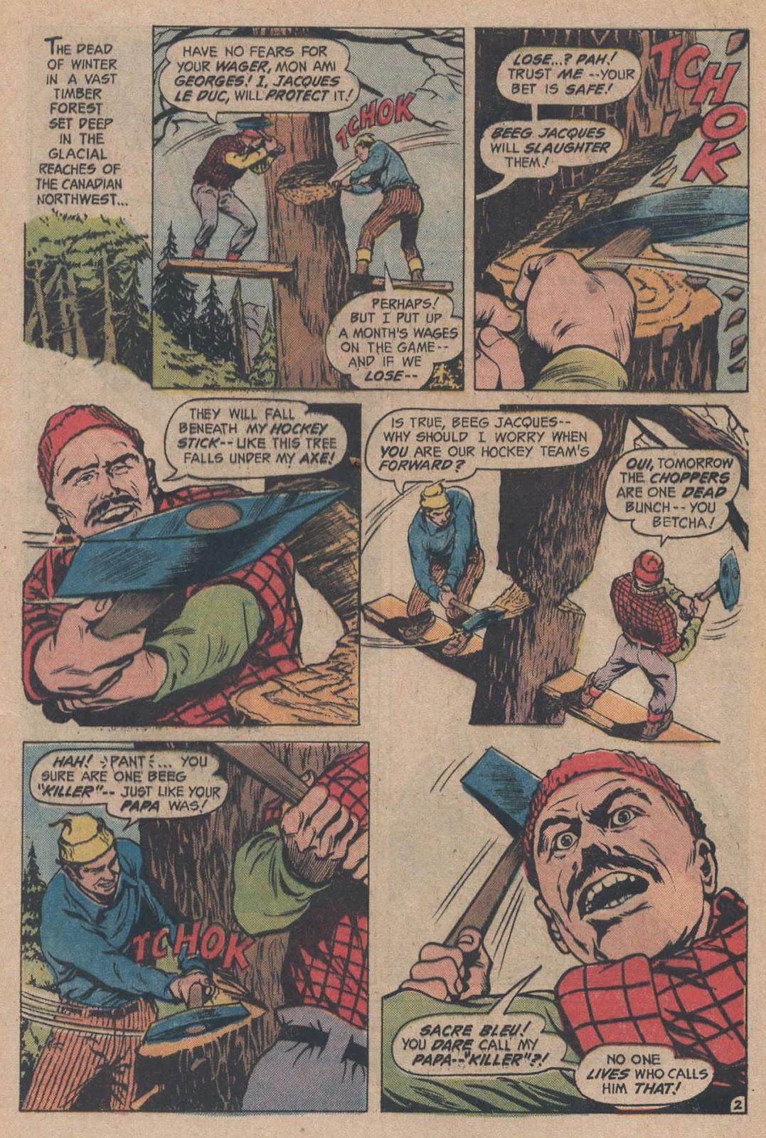 Read online Strange Sports Stories (1973) comic -  Issue #5 - 4