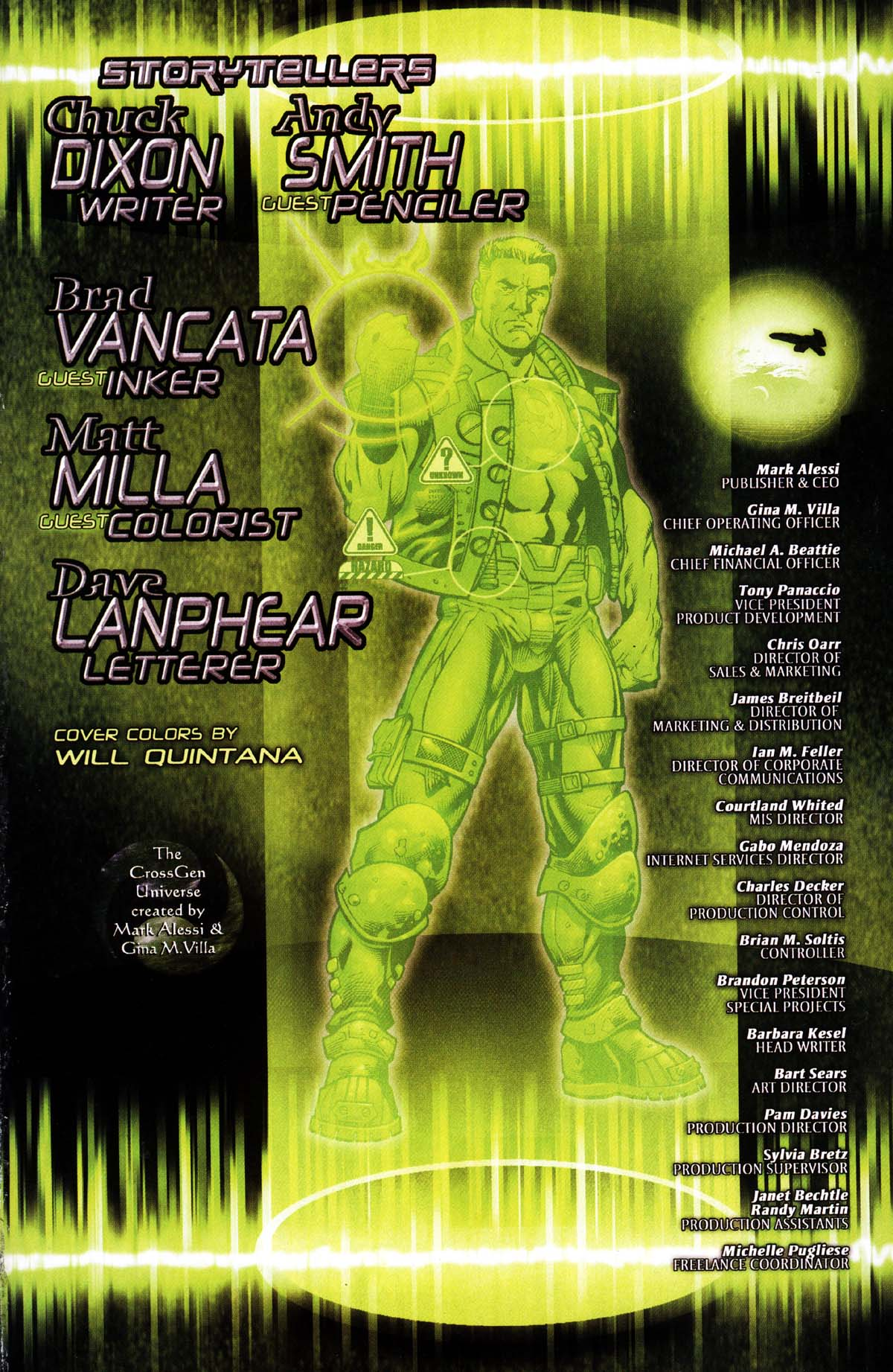Read online Sigil (2000) comic -  Issue #27 - 29