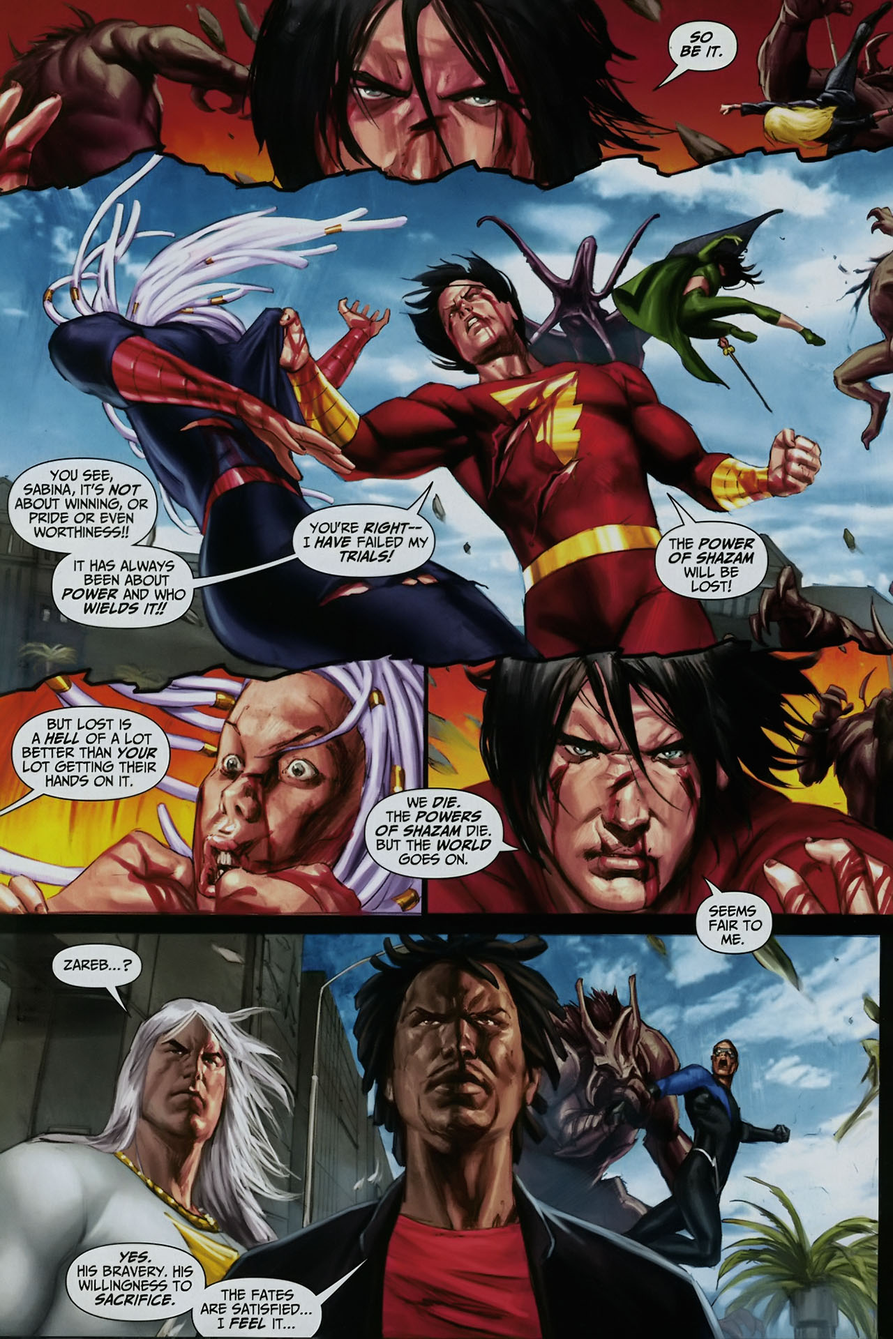 Read online Trials of Shazam comic -  Issue #12 - 20