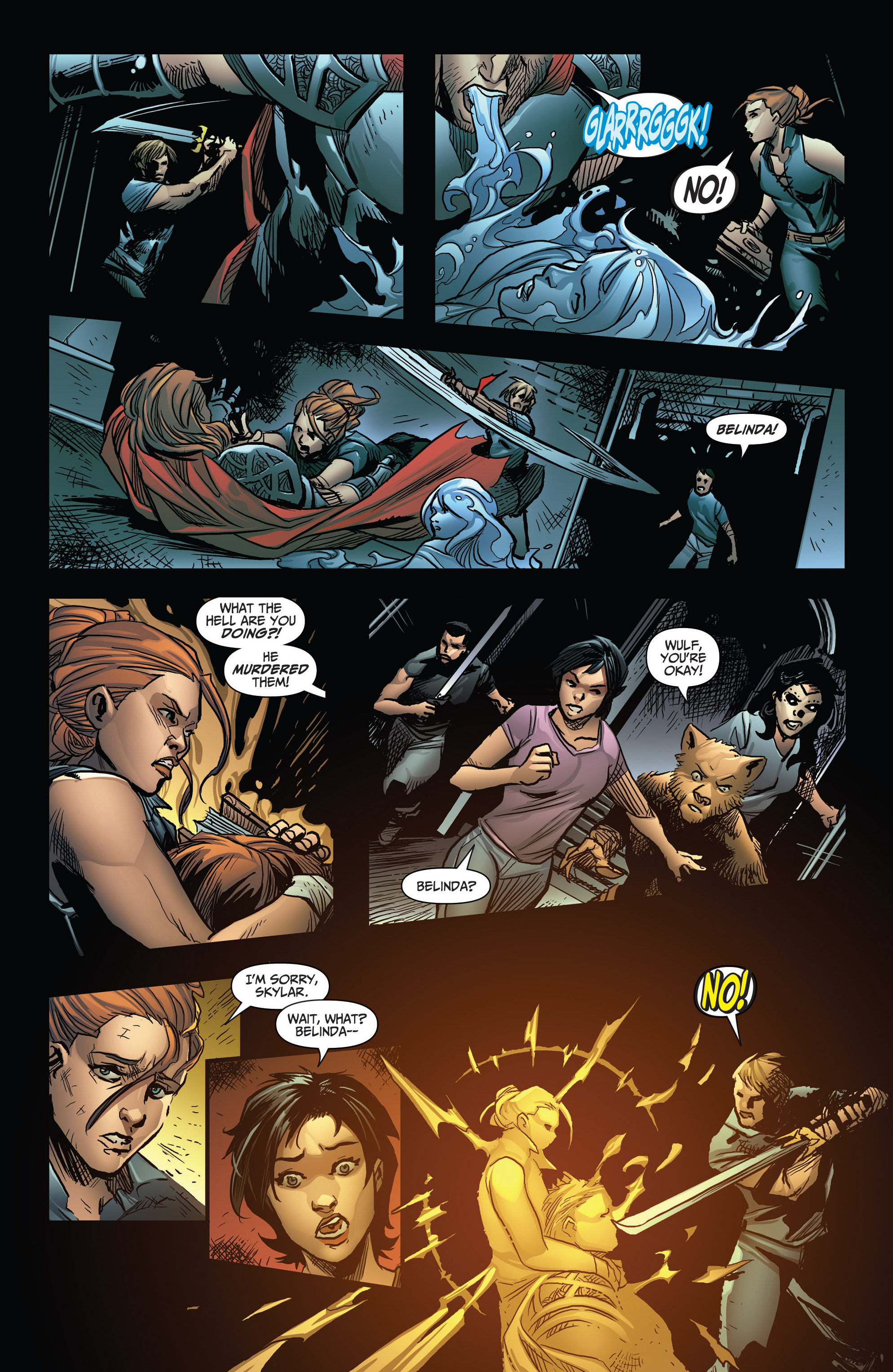 Read online Grimm Fairy Tales: Arcane Acre comic -  Issue # TPB 3 - 113