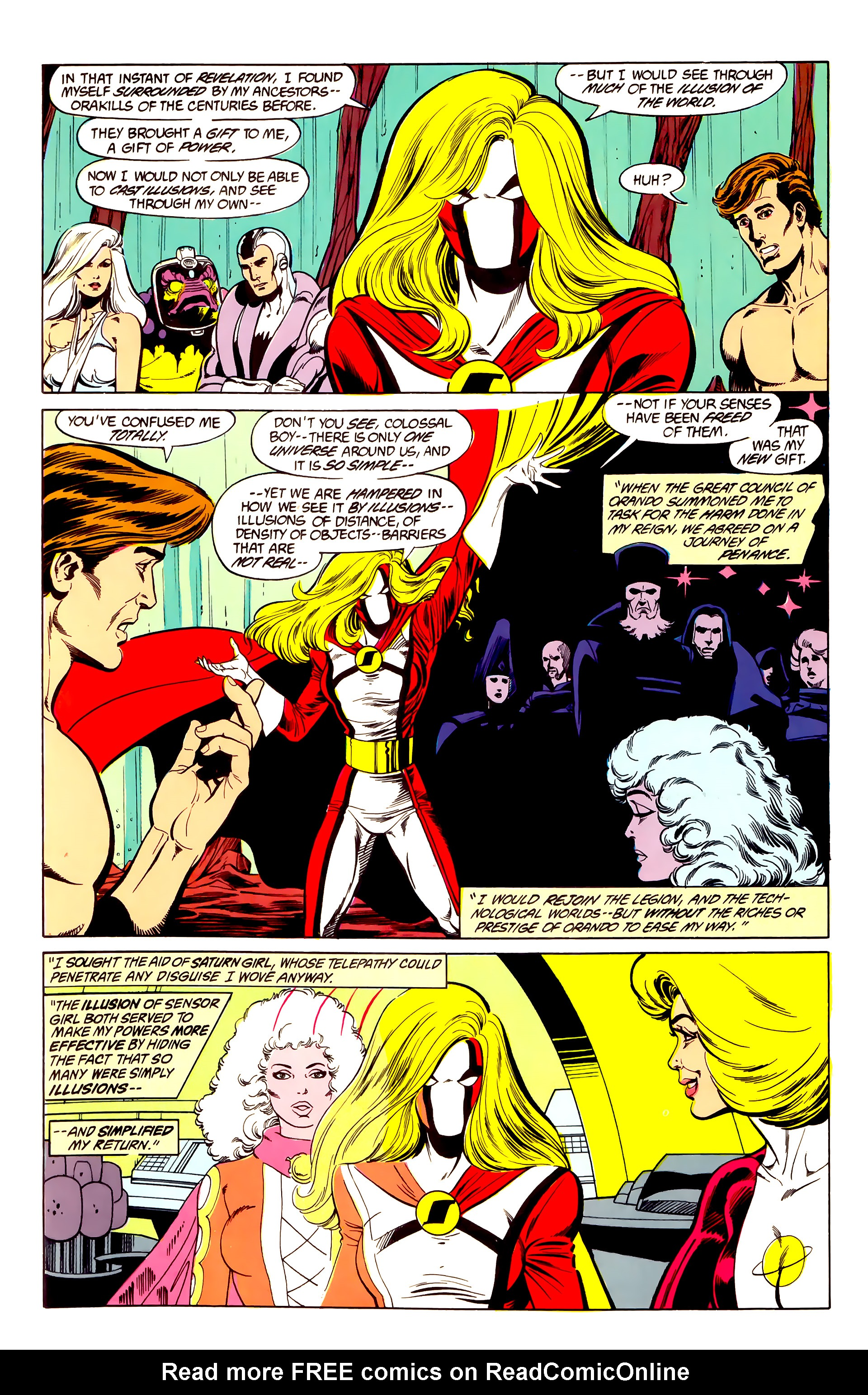 Legion of Super-Heroes (1984) 26 Page 14