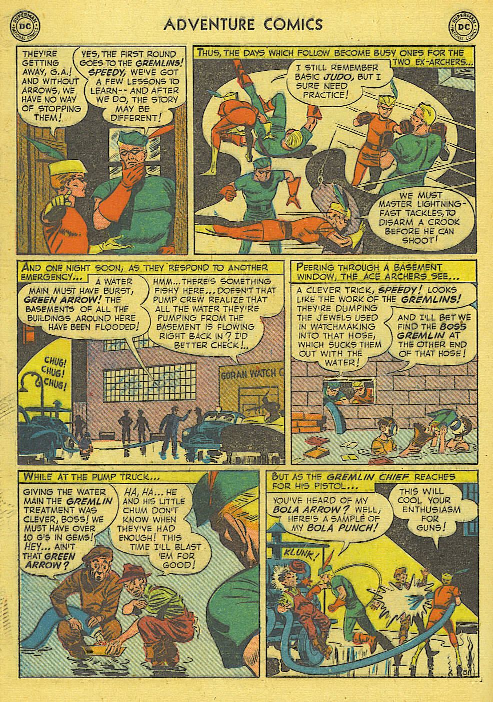 Read online Adventure Comics (1938) comic -  Issue #165 - 36