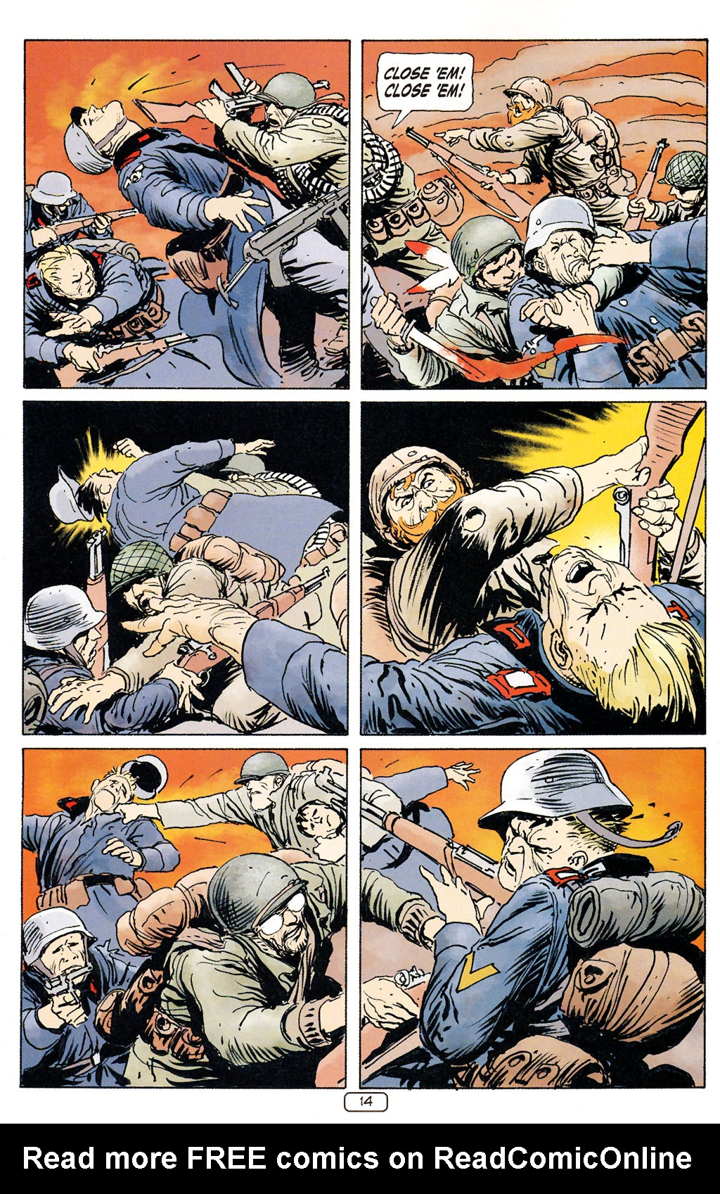 Read online Sgt. Rock: The Prophecy comic -  Issue #5 - 14