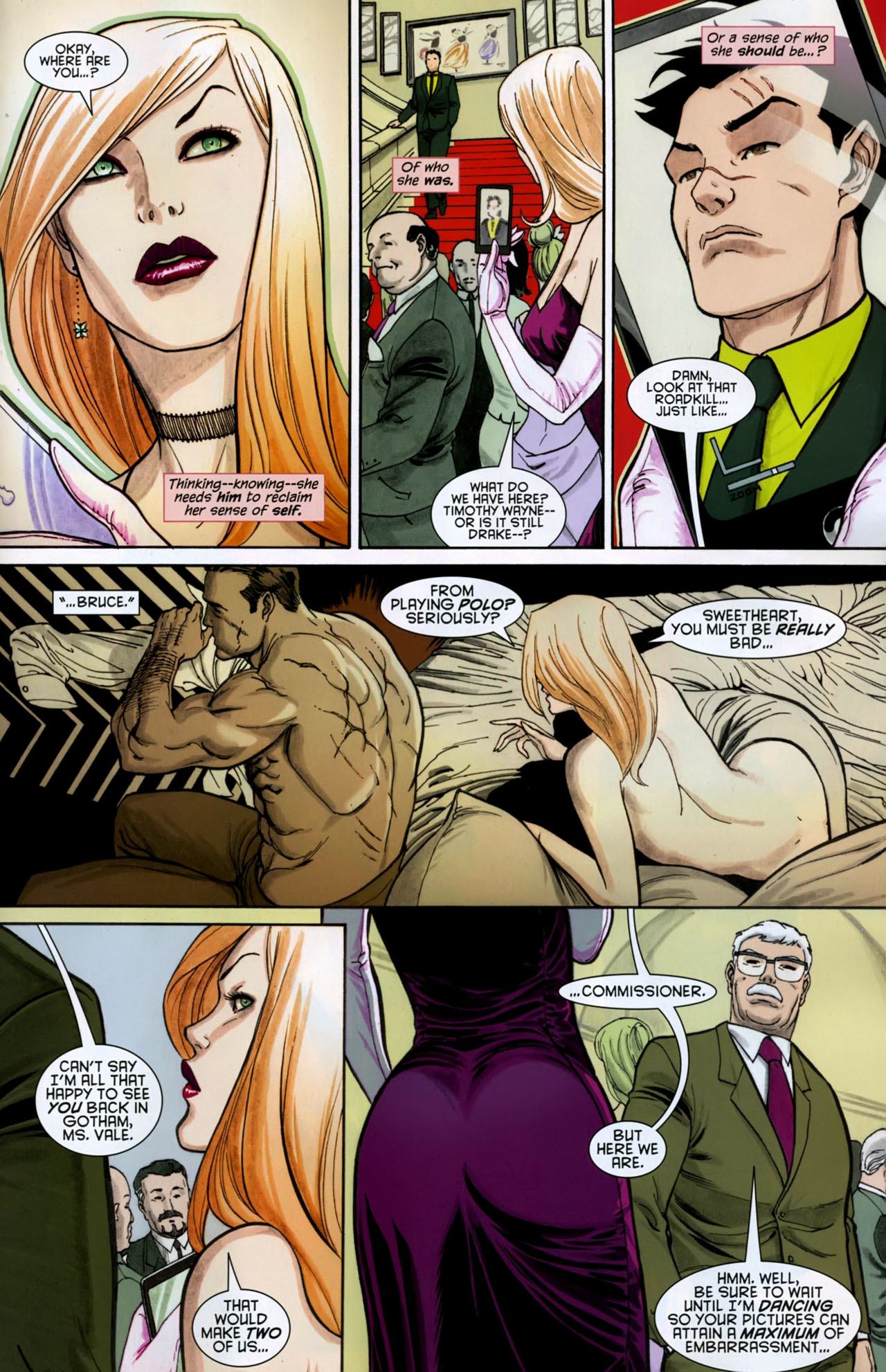 Read online Gotham Gazette comic -  Issue # Issue Batman Alive - 19