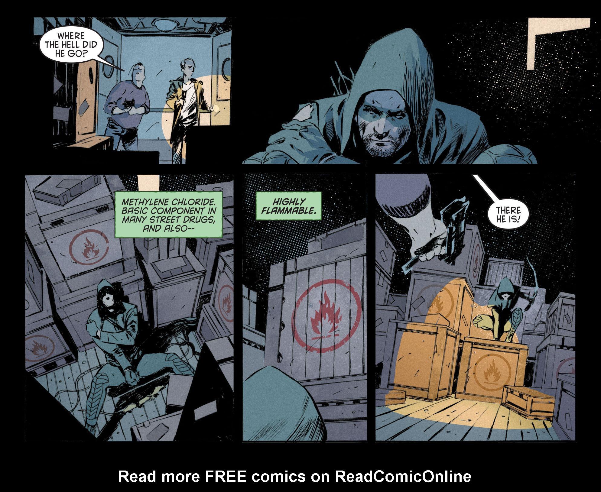 Read online Arrow [II] comic -  Issue #12 - 16
