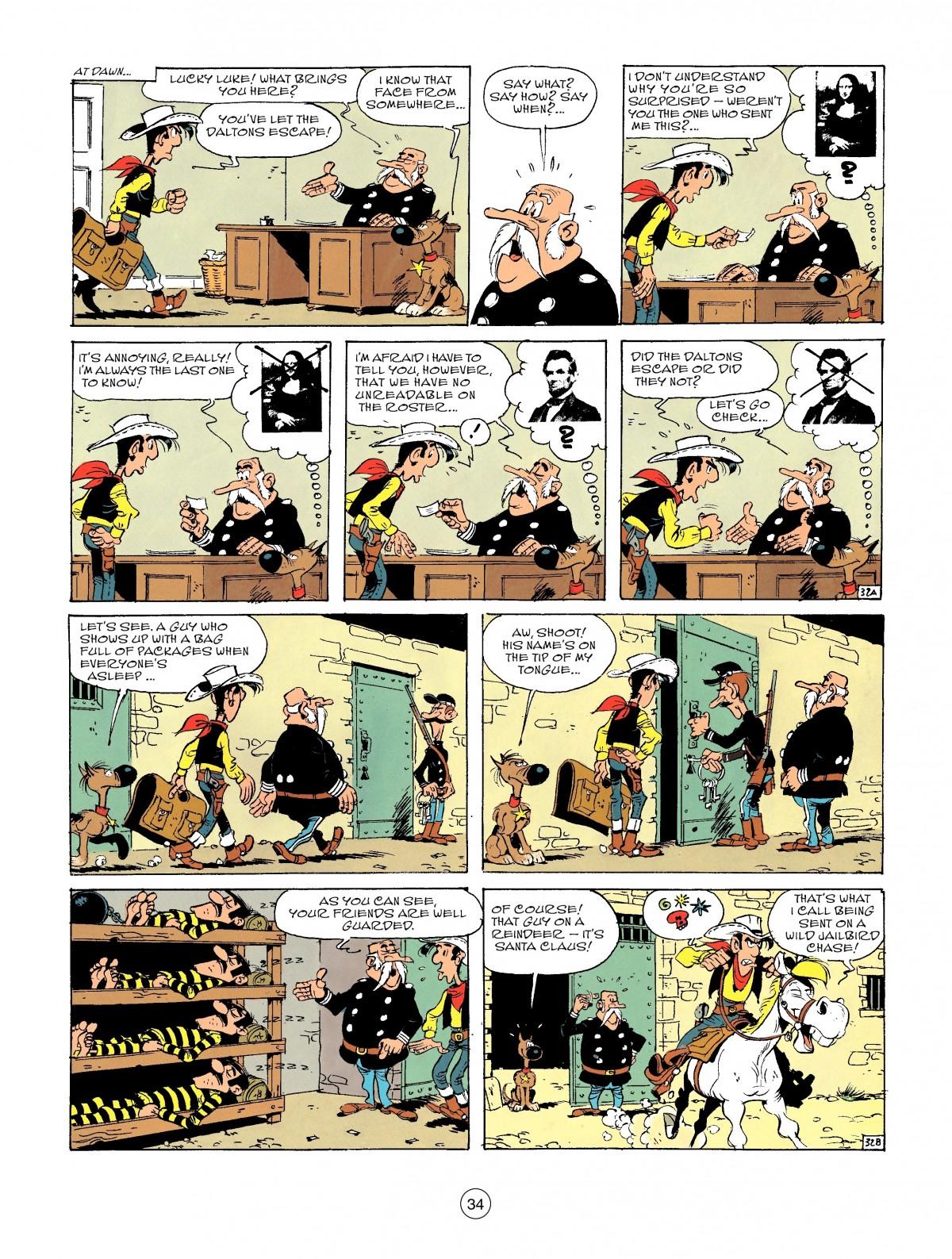 Read online A Lucky Luke Adventure comic -  Issue #46 - 34