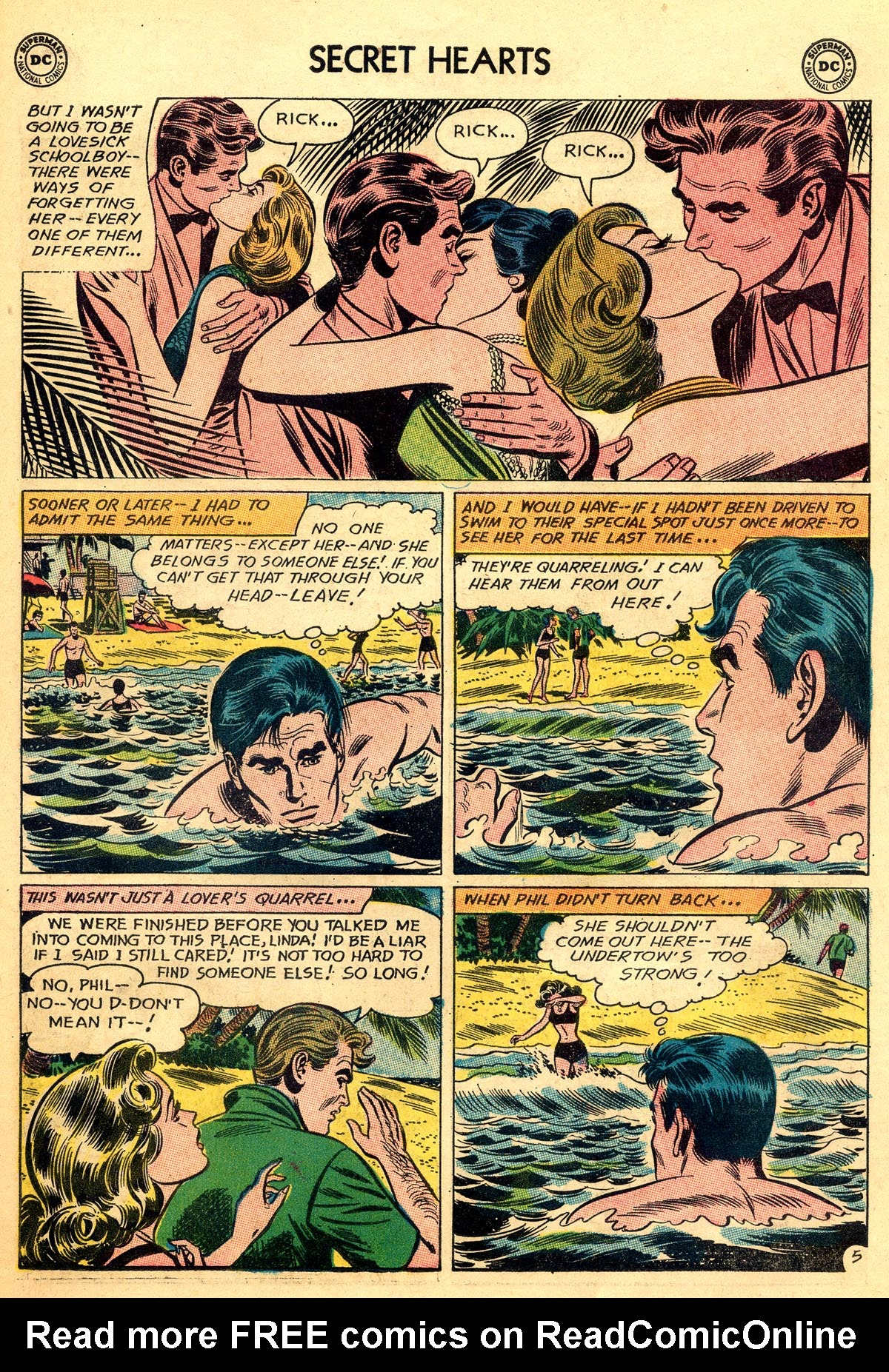 Read online Secret Hearts comic -  Issue #92 - 31