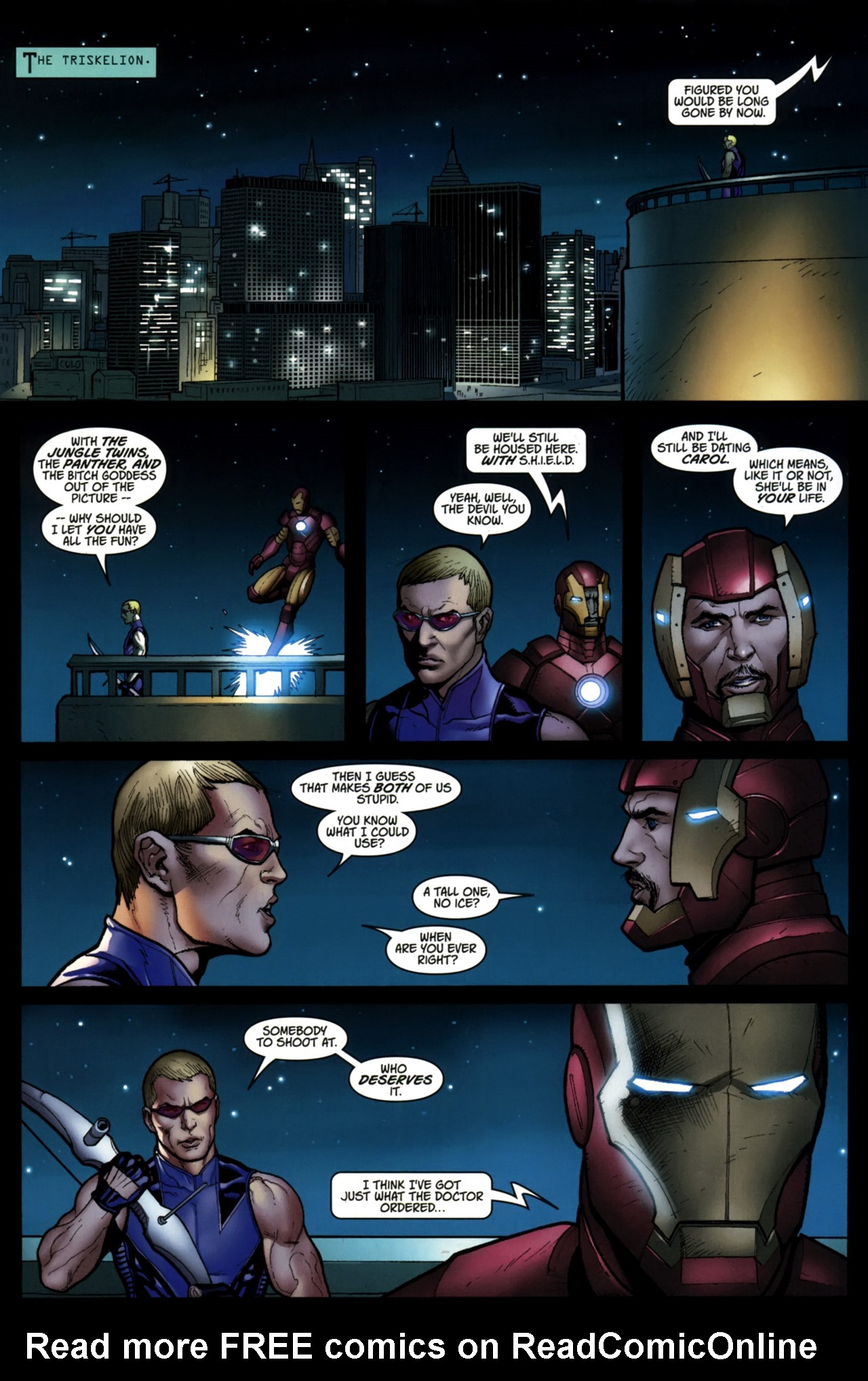 Read online Ultimate New Ultimates comic -  Issue #5 - 22
