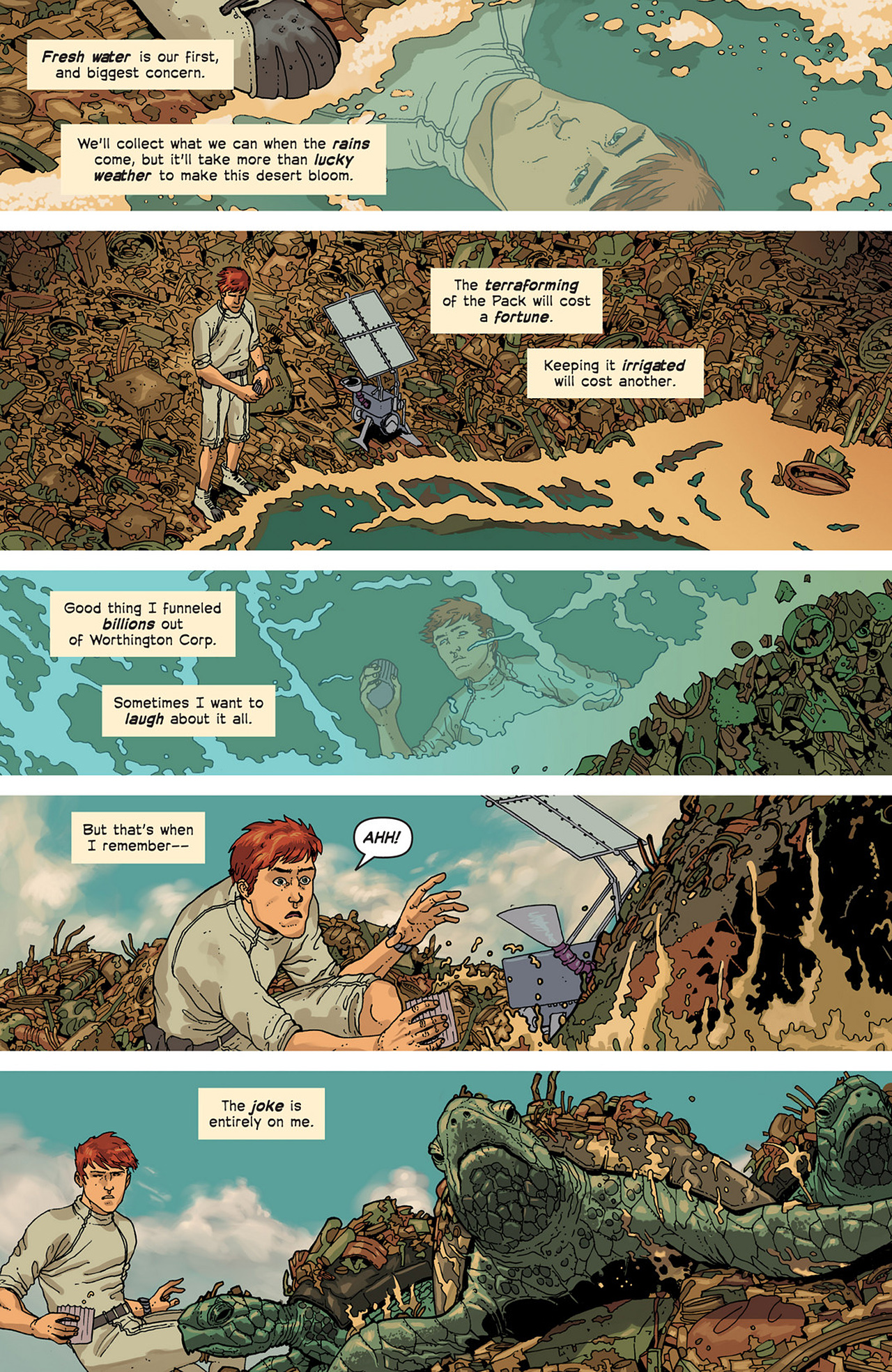 Read online Great Pacific comic -  Issue #2 - 7