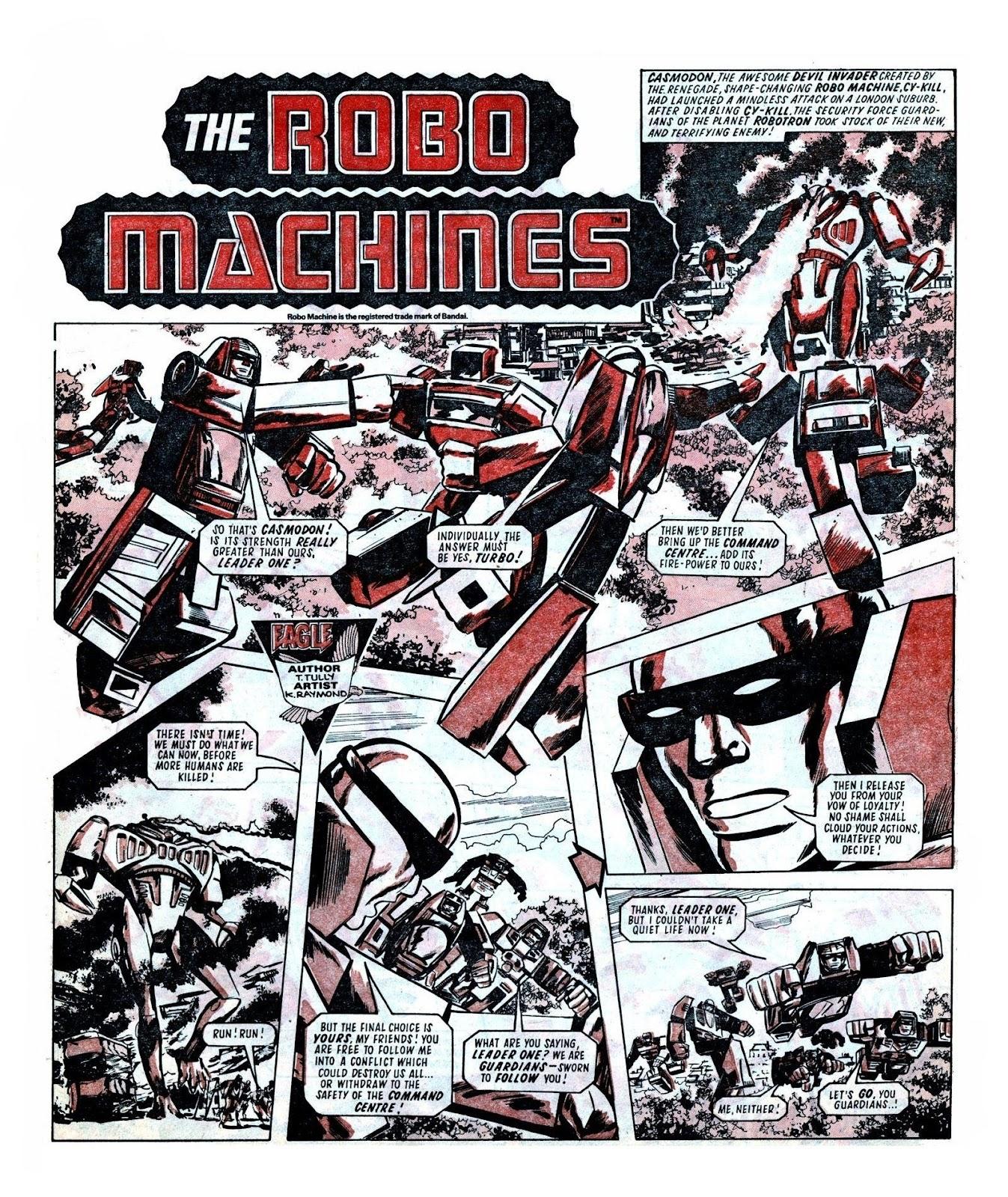 Read online Robo Machines comic -  Issue # TPB - 100