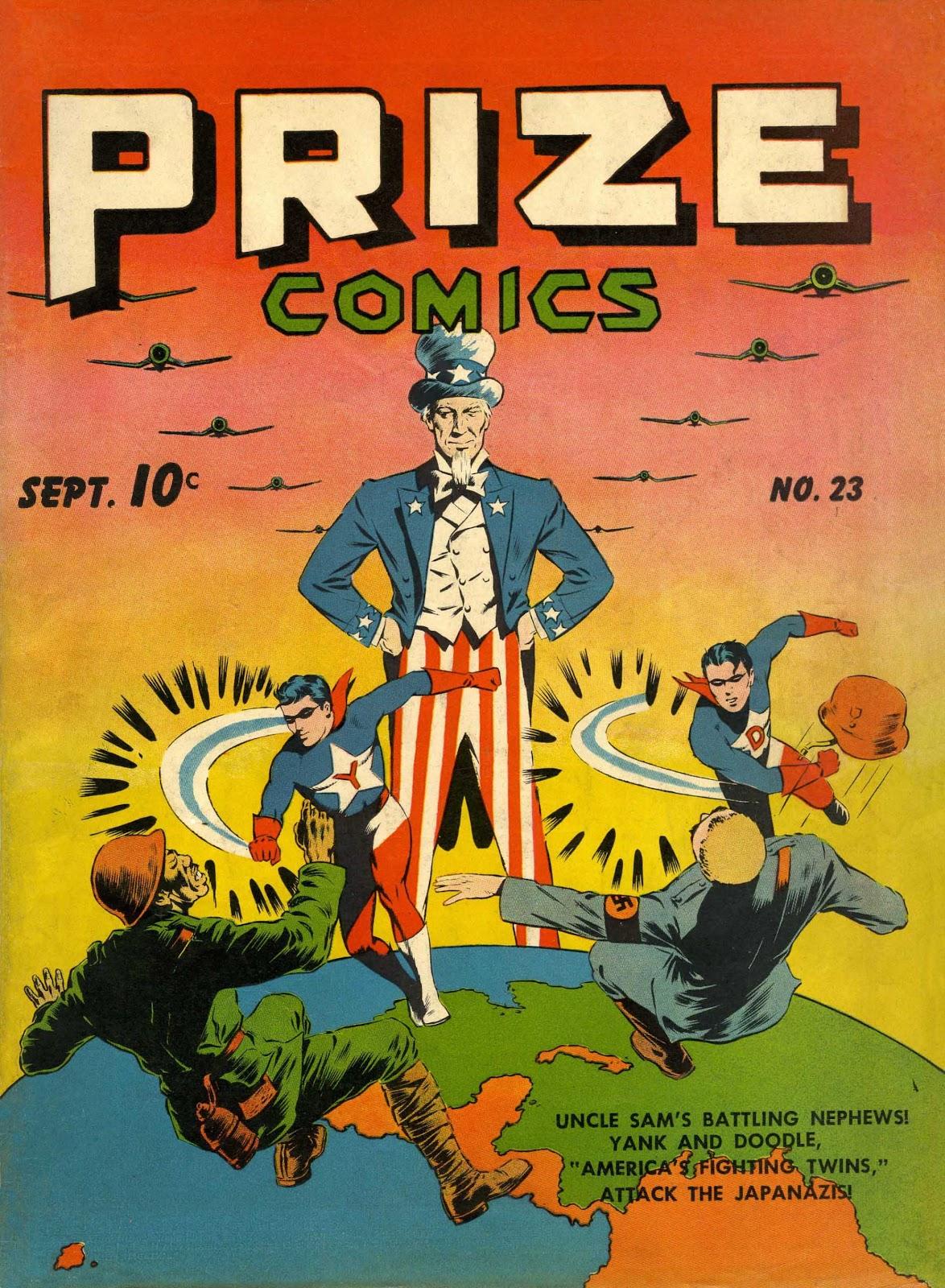 Prize Comics 23 Page 1