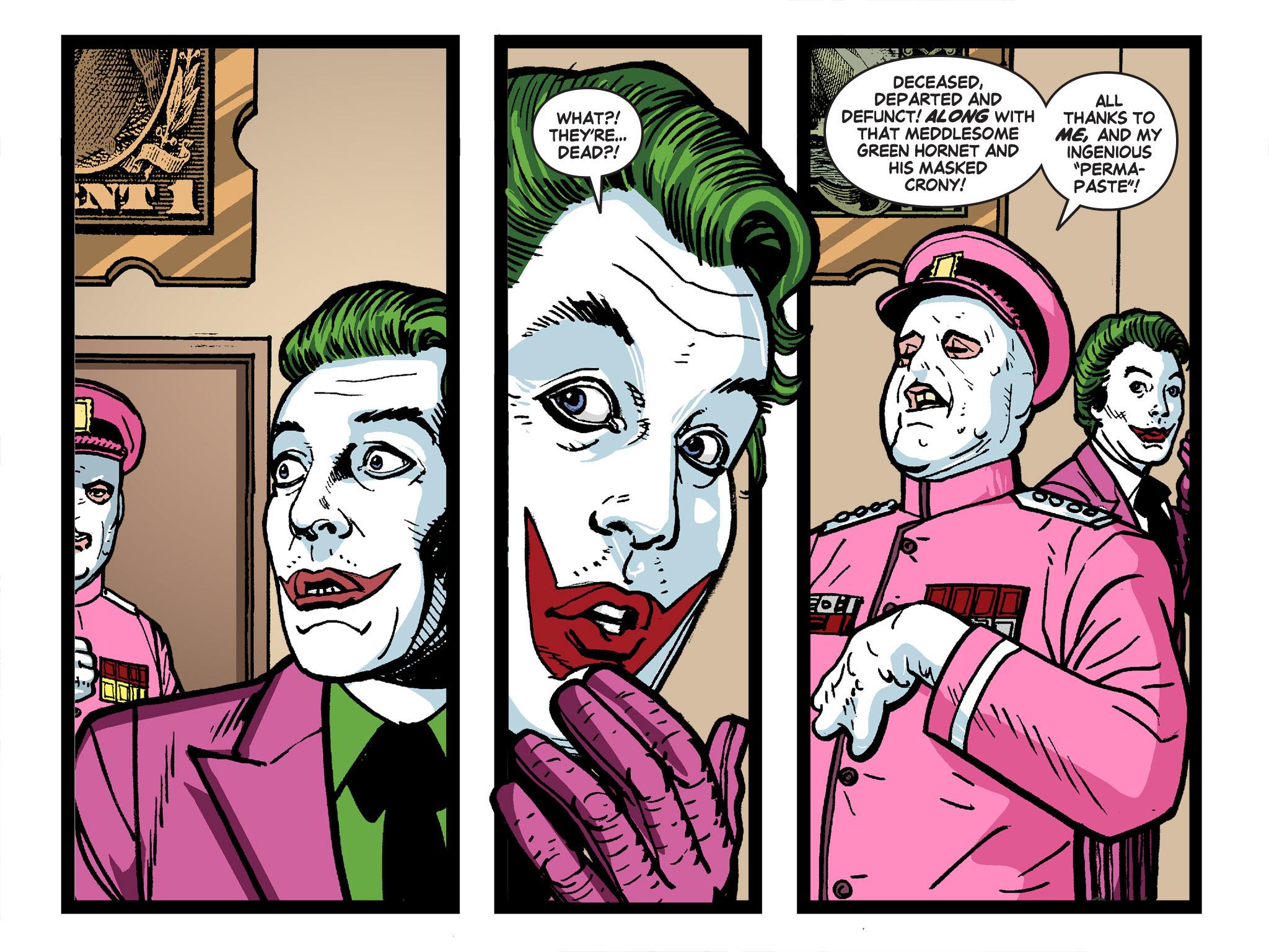 Read online Batman '66 Meets the Green Hornet [II] comic -  Issue #4 - 13