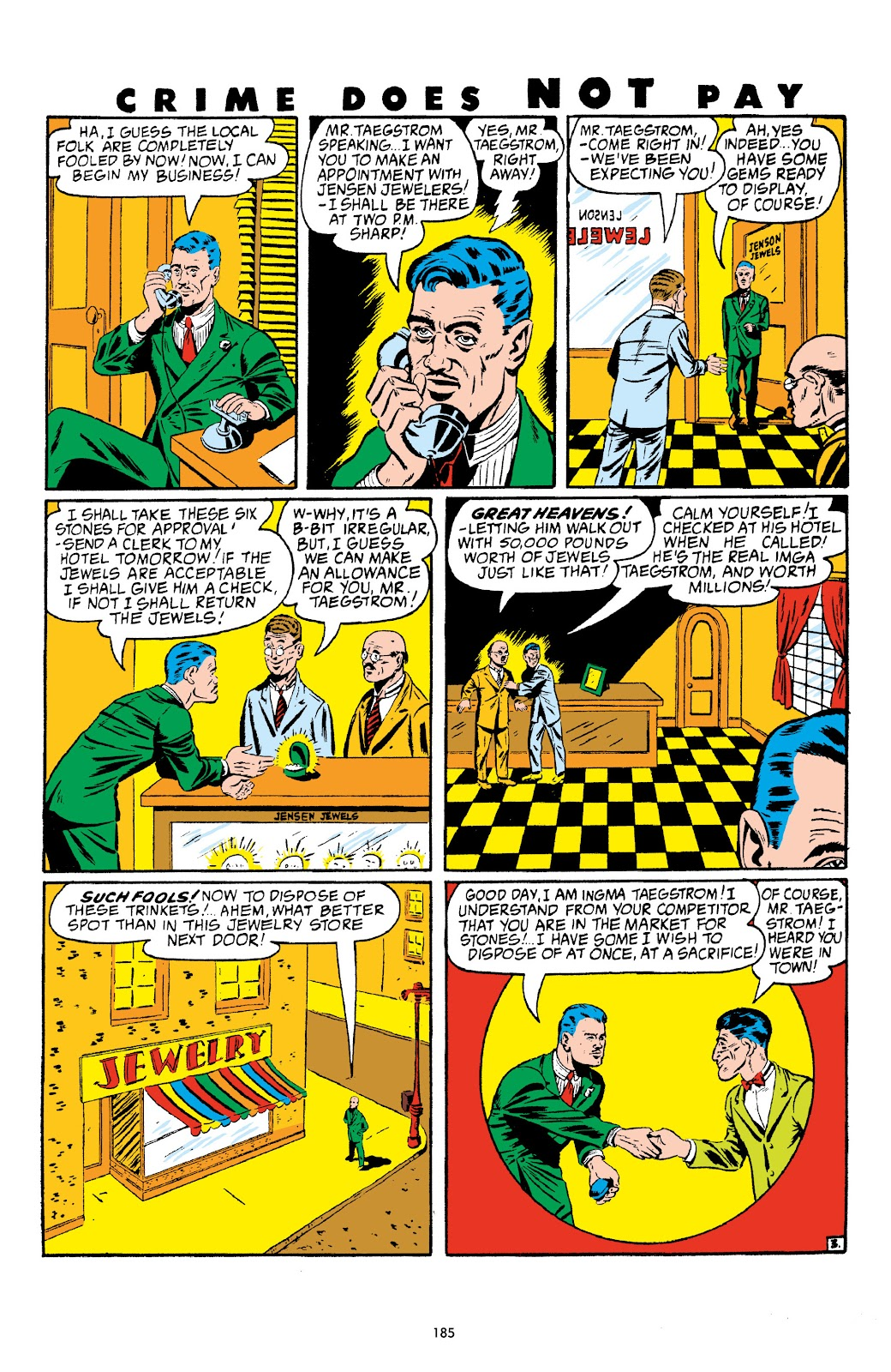 Read online Crime Does Not Pay Archives comic -  Issue # TPB 4 (Part 2) - 85