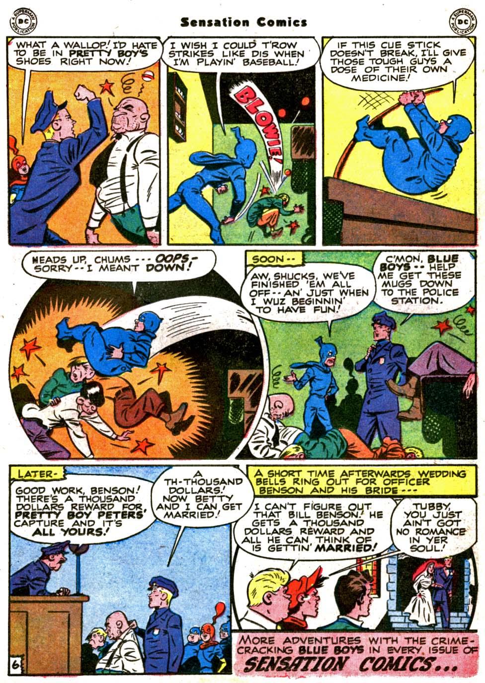 Read online Sensation (Mystery) Comics comic -  Issue #64 - 21