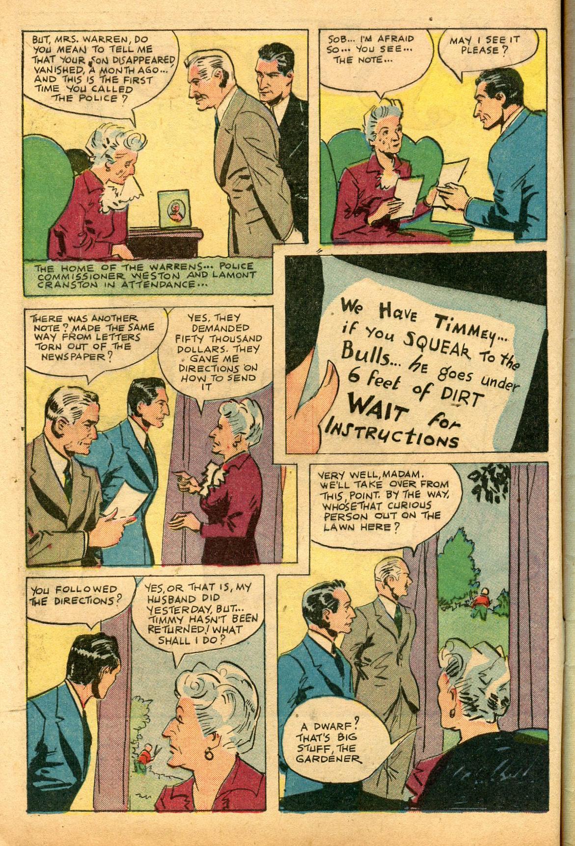 Read online Shadow Comics comic -  Issue #69 - 4